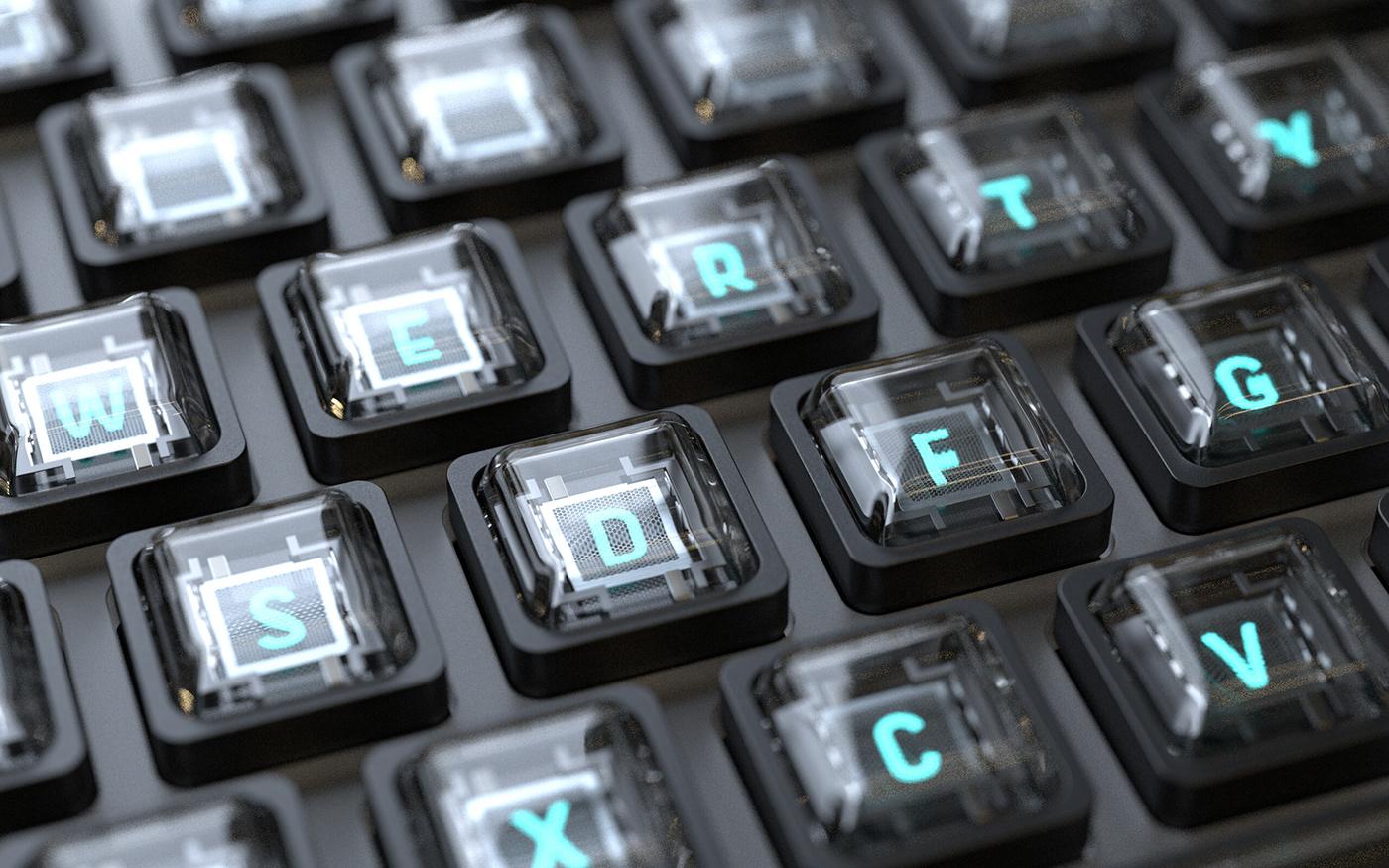 VFD Keyboard 2 by Richard Falcema