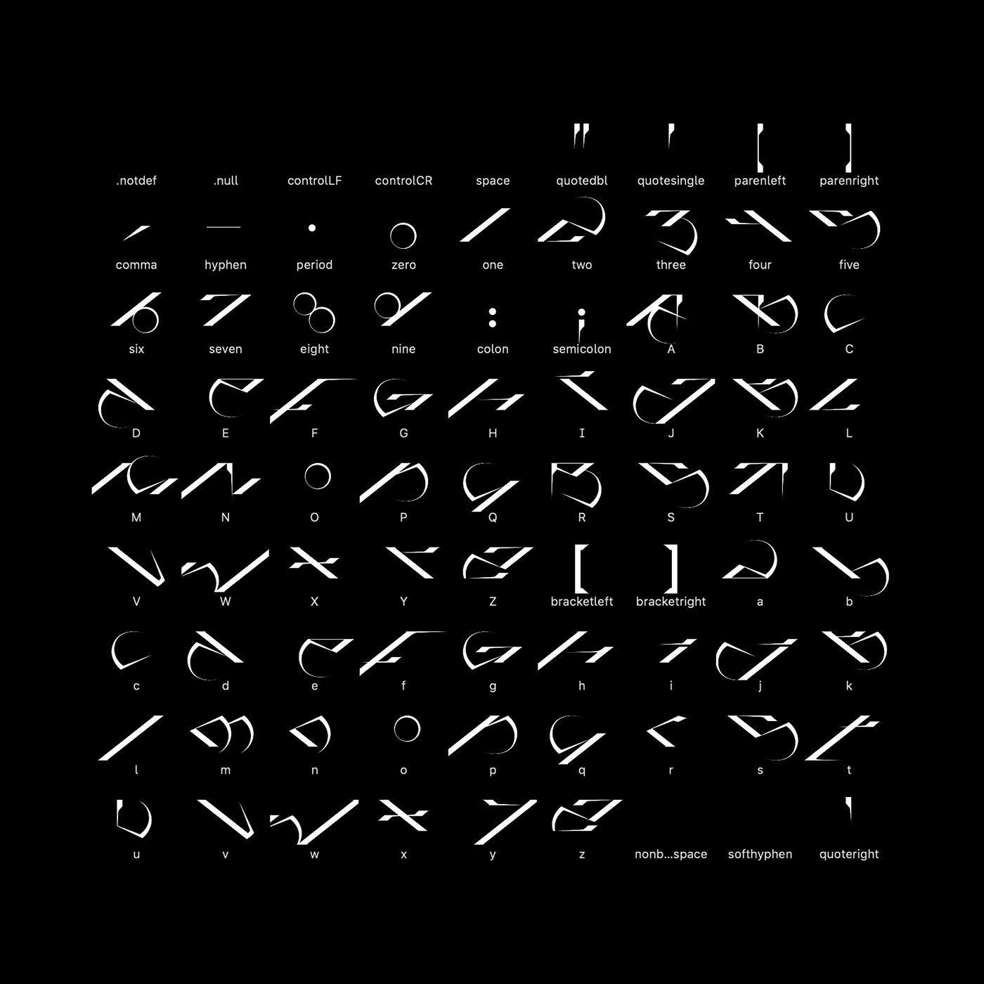 Acid Graphics brutal custom font download font Experimental font font NEW GRAPHICS type typedesign