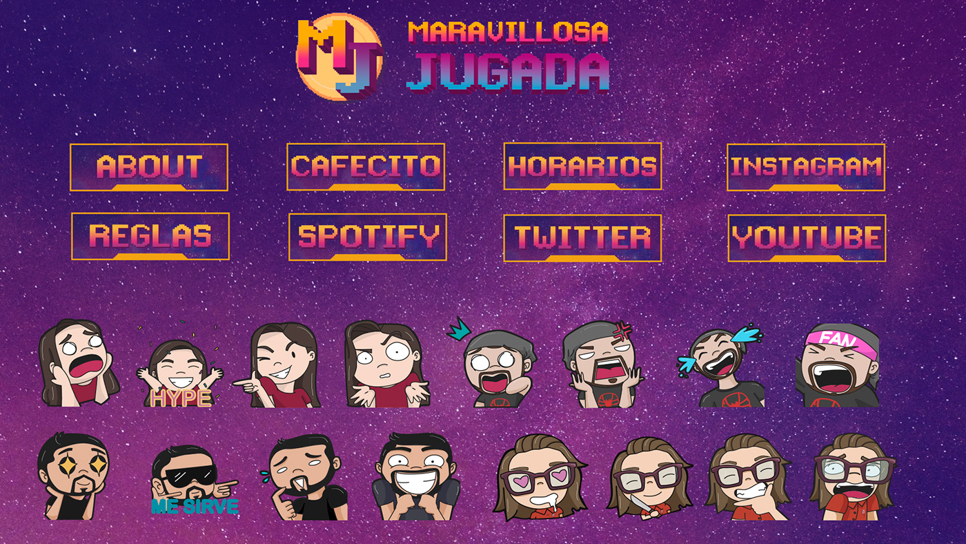 BUDGES emotes Gamer Gaming logo Overlay podcast screens Twitch