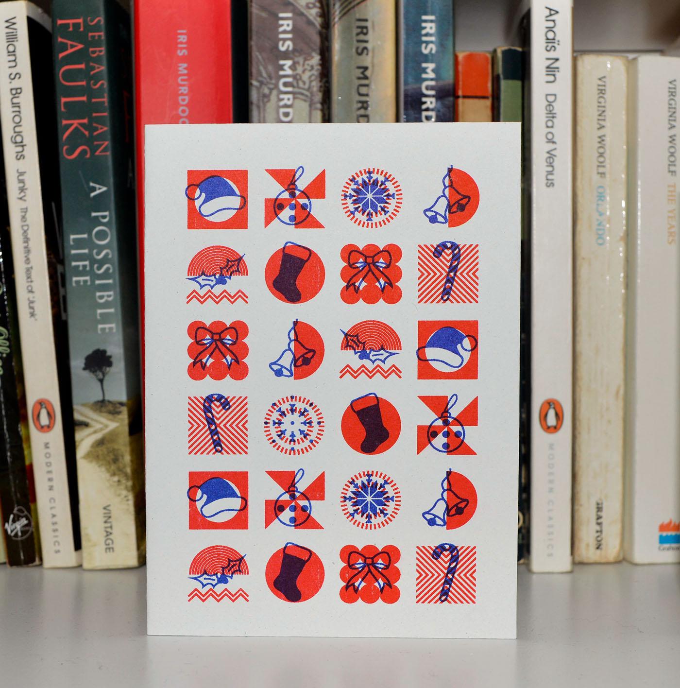 豐富的34個聖誕卡片設計欣賞