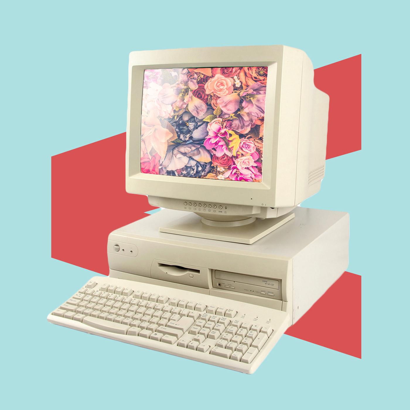 Image may contain: computer monitor, television and computer keyboard