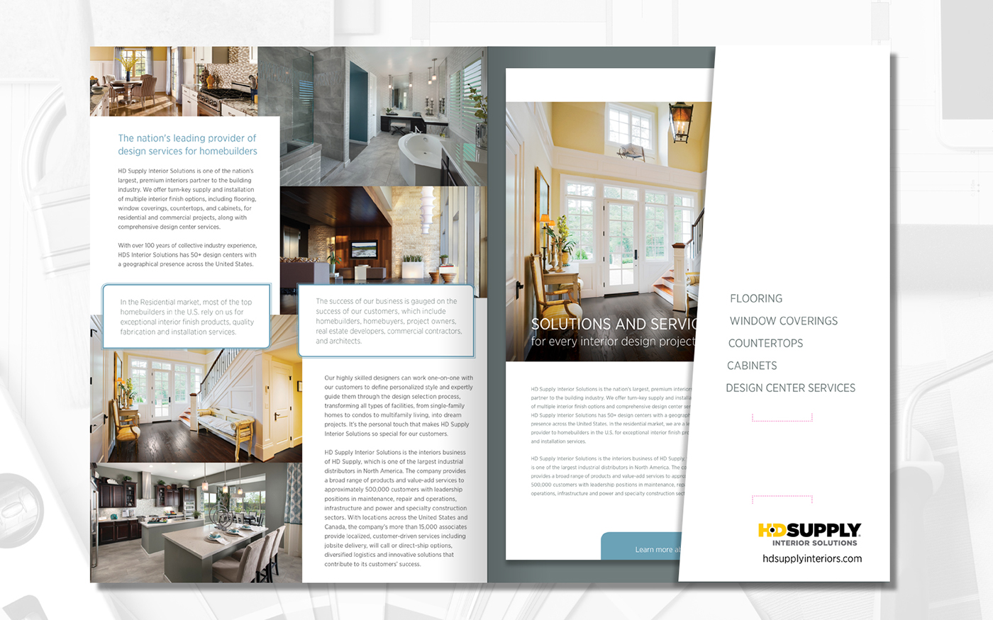 Delicieux INTERIOR SOLUTIONS, New Collateral On Behance