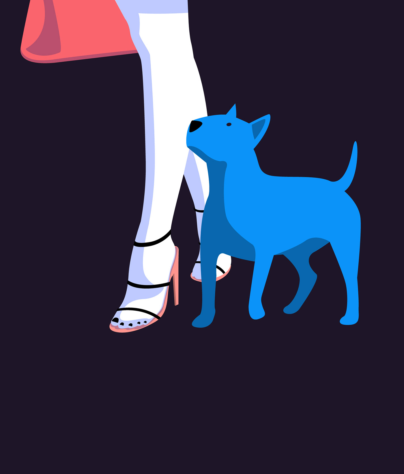 Image may contain: animal, cartoon and dog