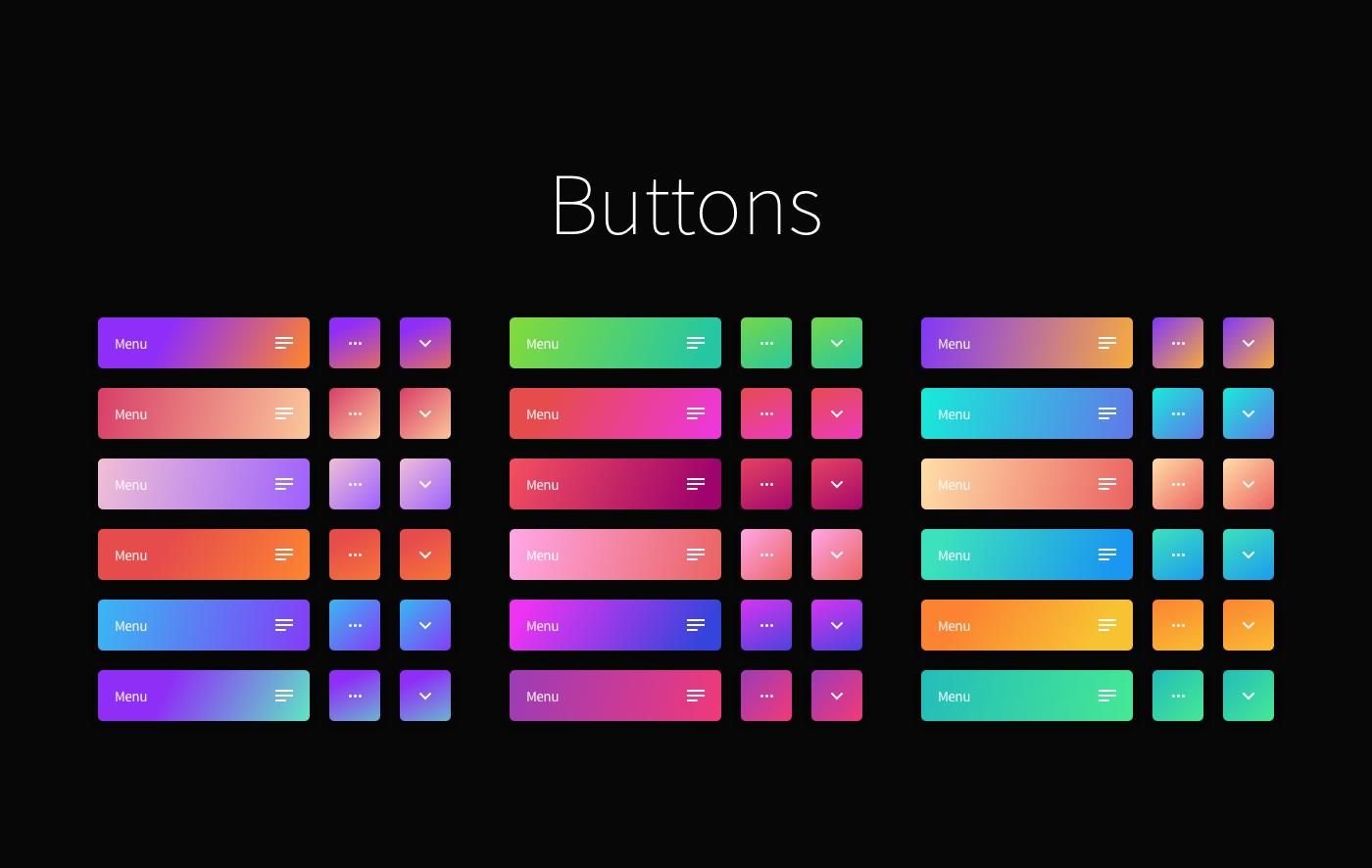 sketch gradients gradient download freebie design Web UI ux UI/UX