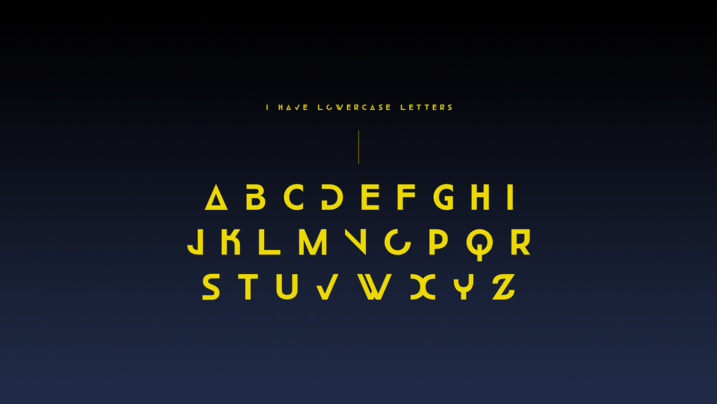 check my latest font work ephra sp