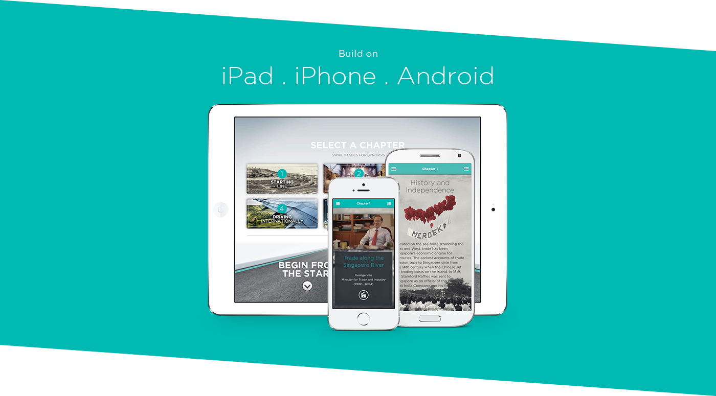publication digital magazine epub singapore iPad iphone android app International enterprise