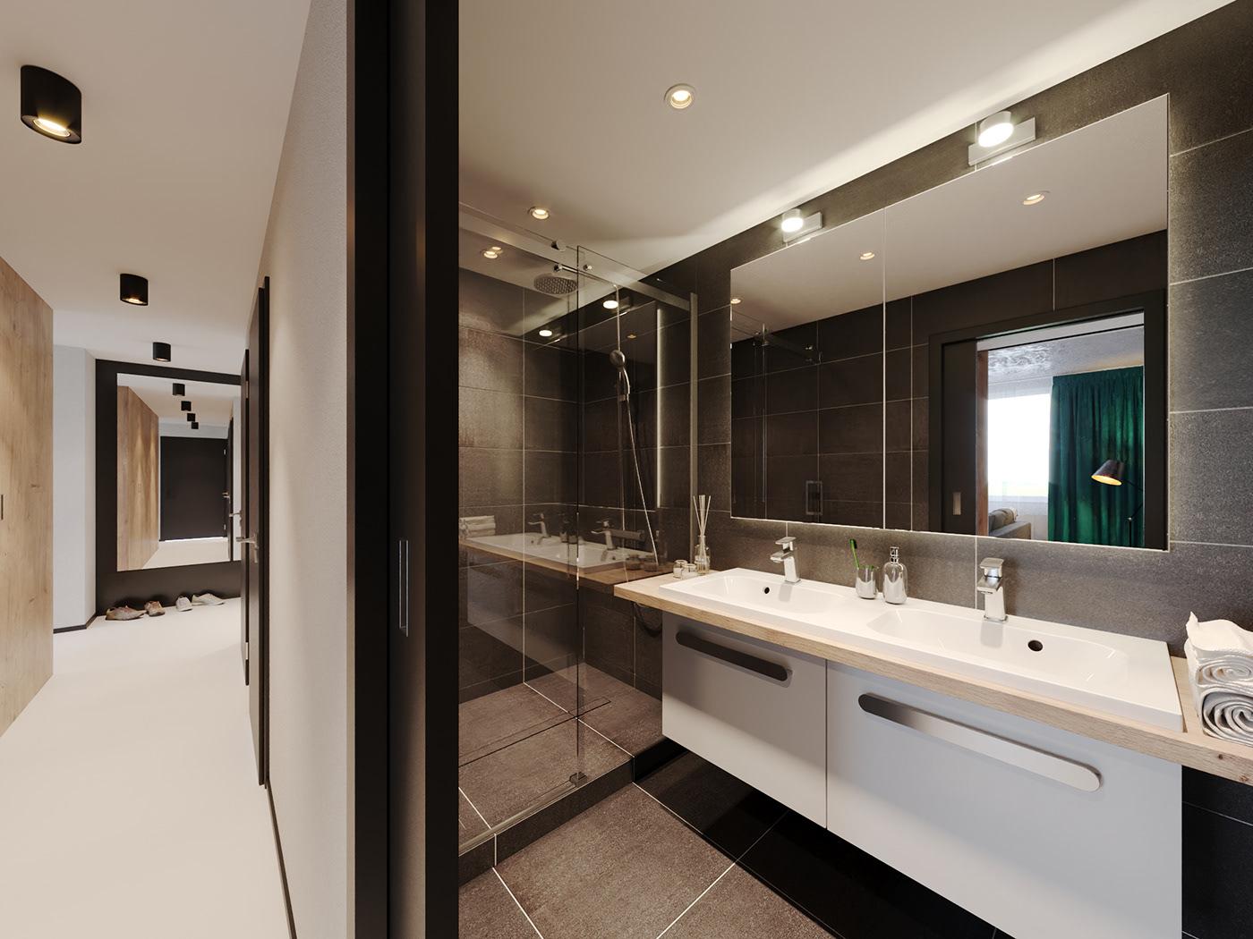 Image may contain: floor, indoor and bathroom
