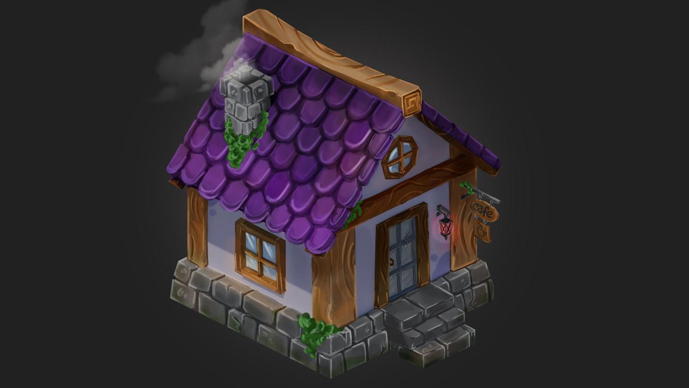 Image may contain: cartoon, house and screenshot