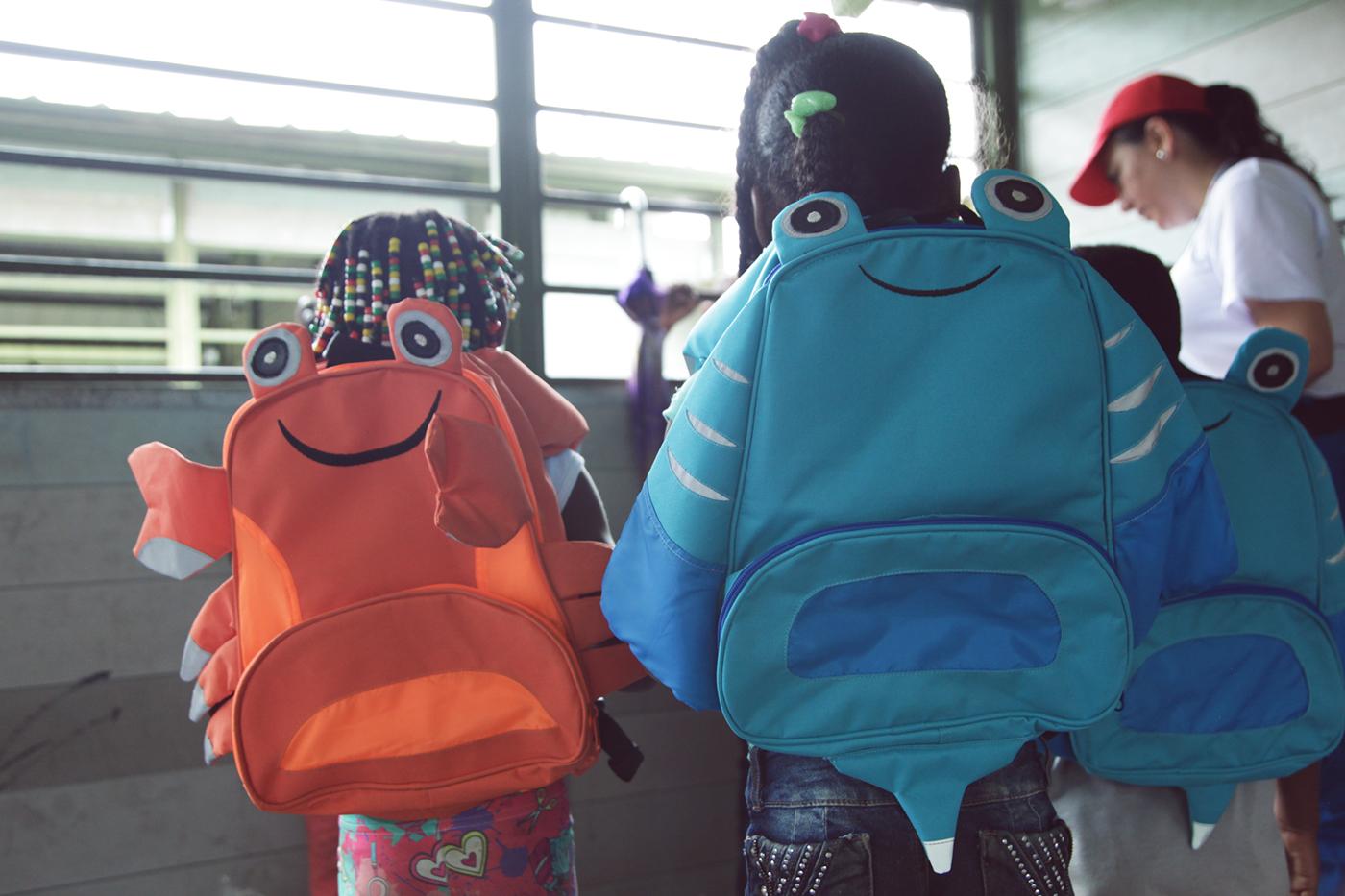 Cannes backpack Cannes lions desing Clio ojo de iberoamerica El Sol D&AD