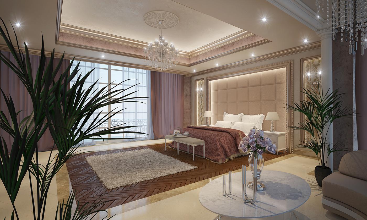 D Exhibition Designer Jobs In Dubai : Grand master bedroom on behance