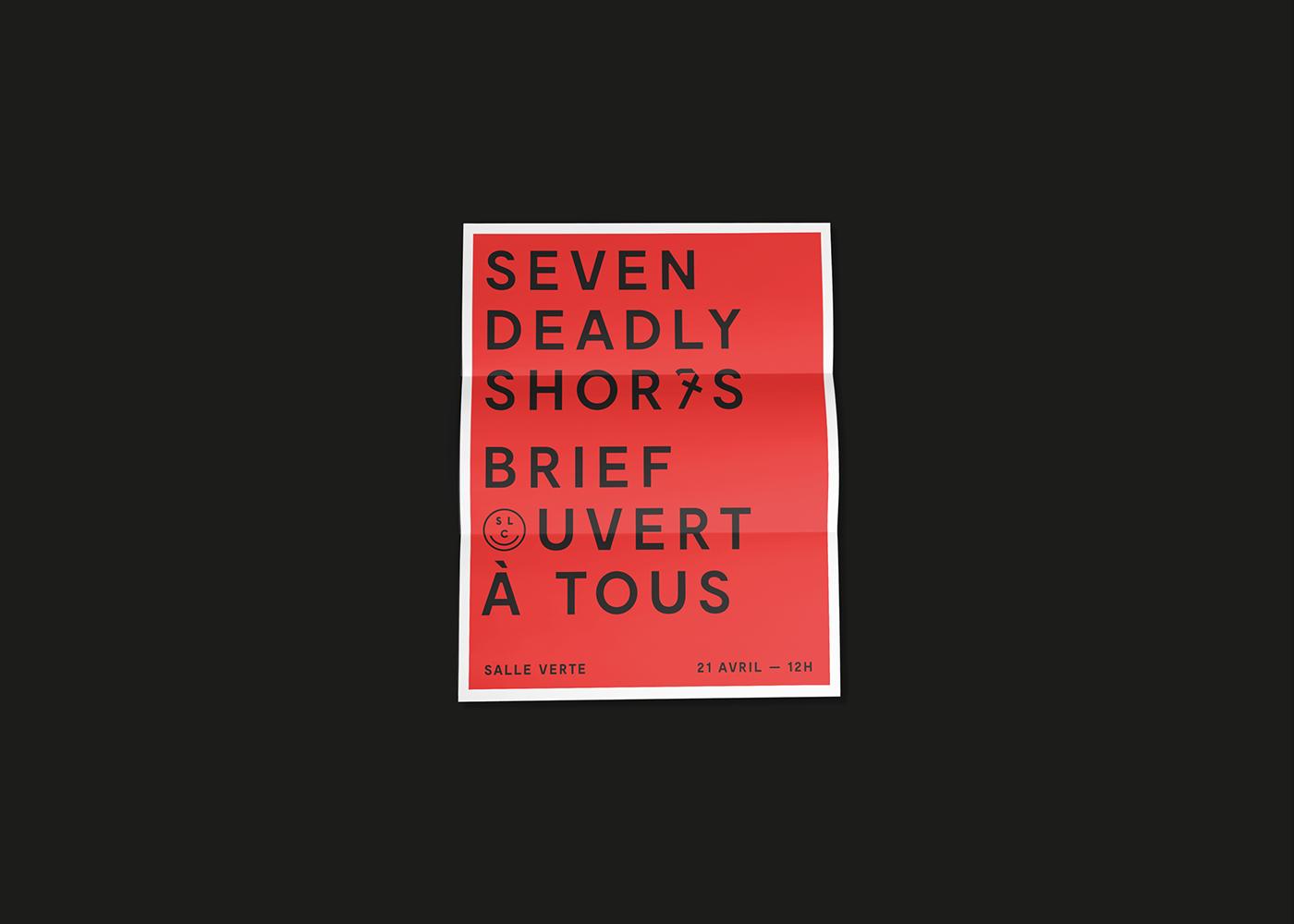 Sept seven deadly shorts Film   sin péchés capitaux red black