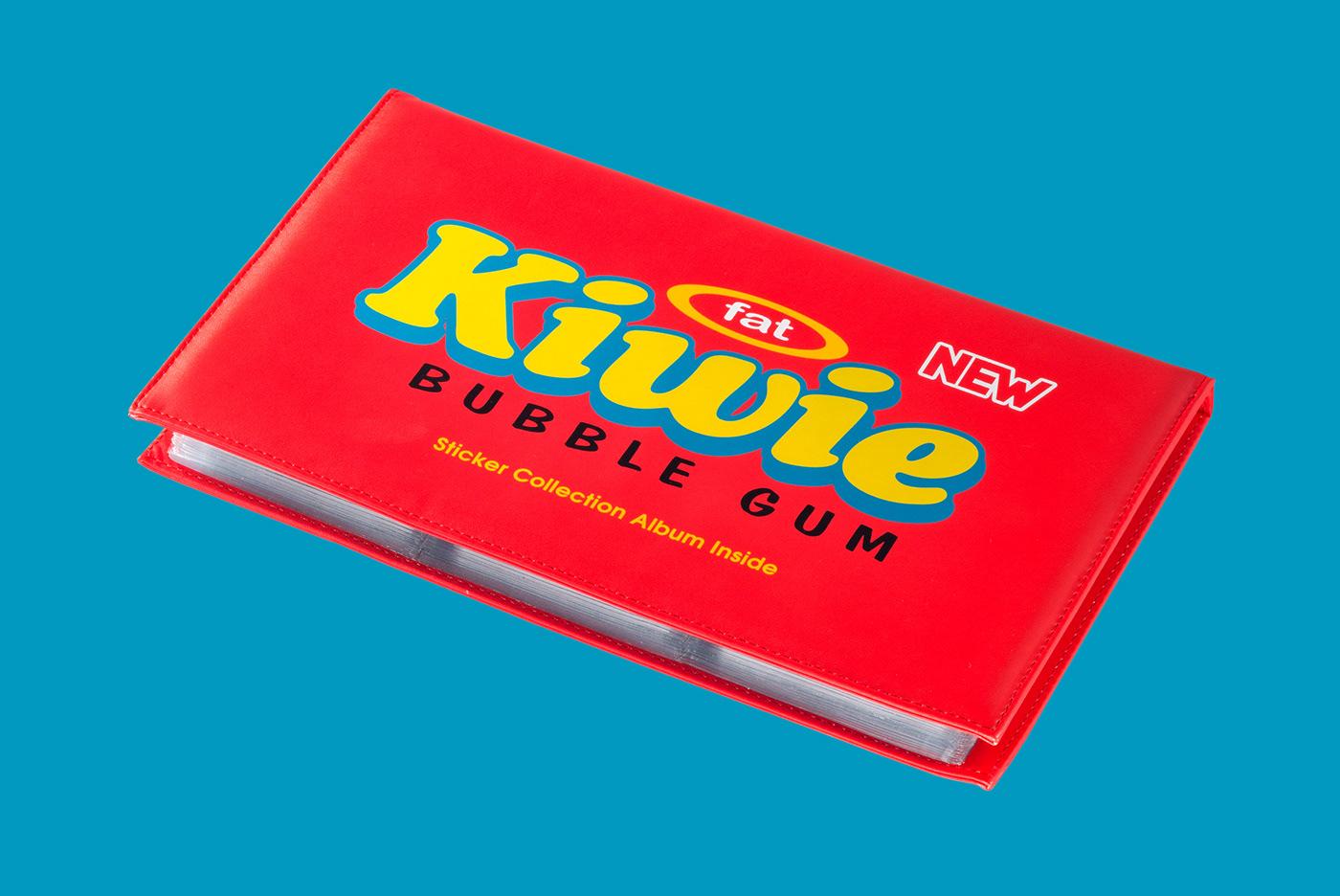 KIWIE bubble gum Street Art  fat monster product design  concept creation Turbo Bubble Gum