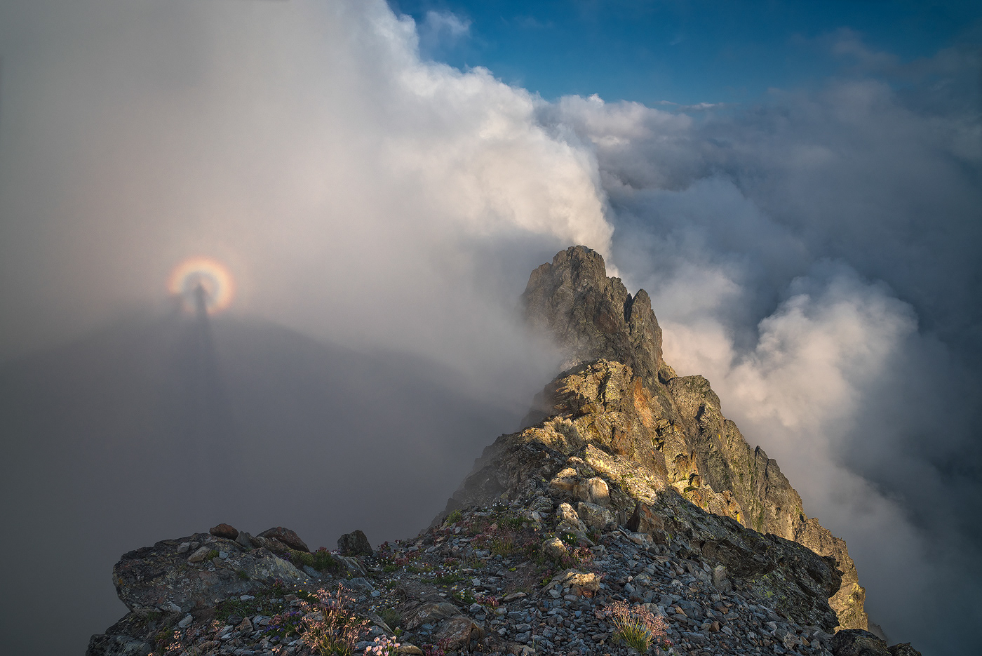 Aether clouds cloudscape ethereal Landscape mountains Nature pyrenees sea SKY