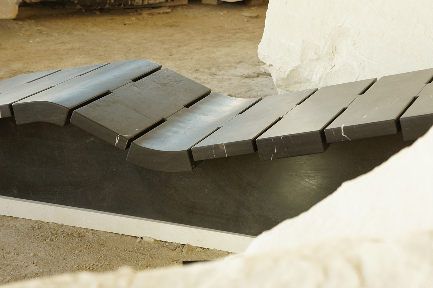 design Design Development industrial design  Marble modular product design  sculpture stone furniture furniture design