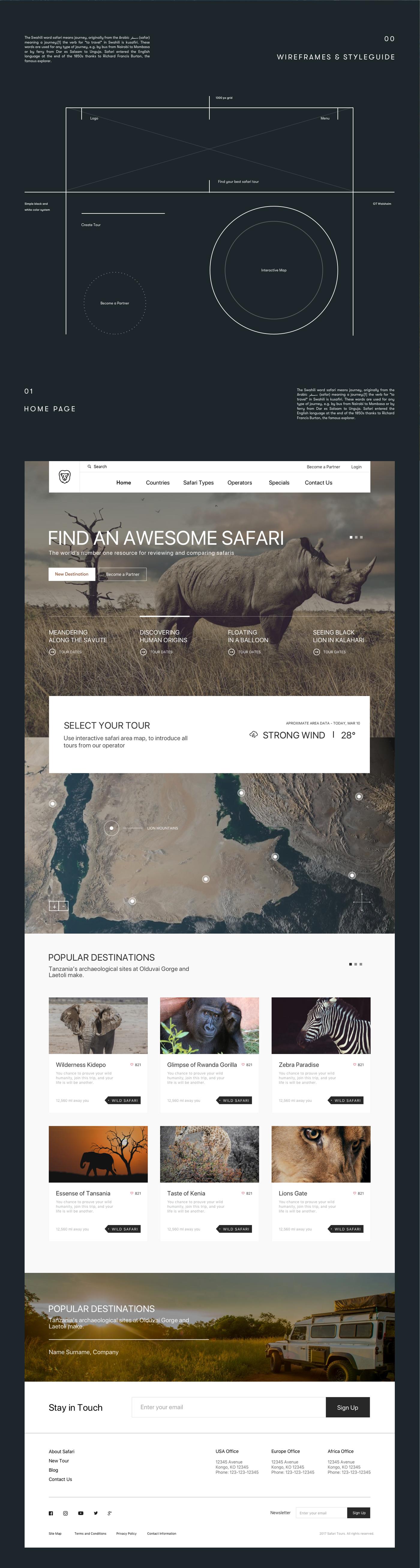 Travel UI ux Web design xD photoshop Illustrator Adobe XD after effects