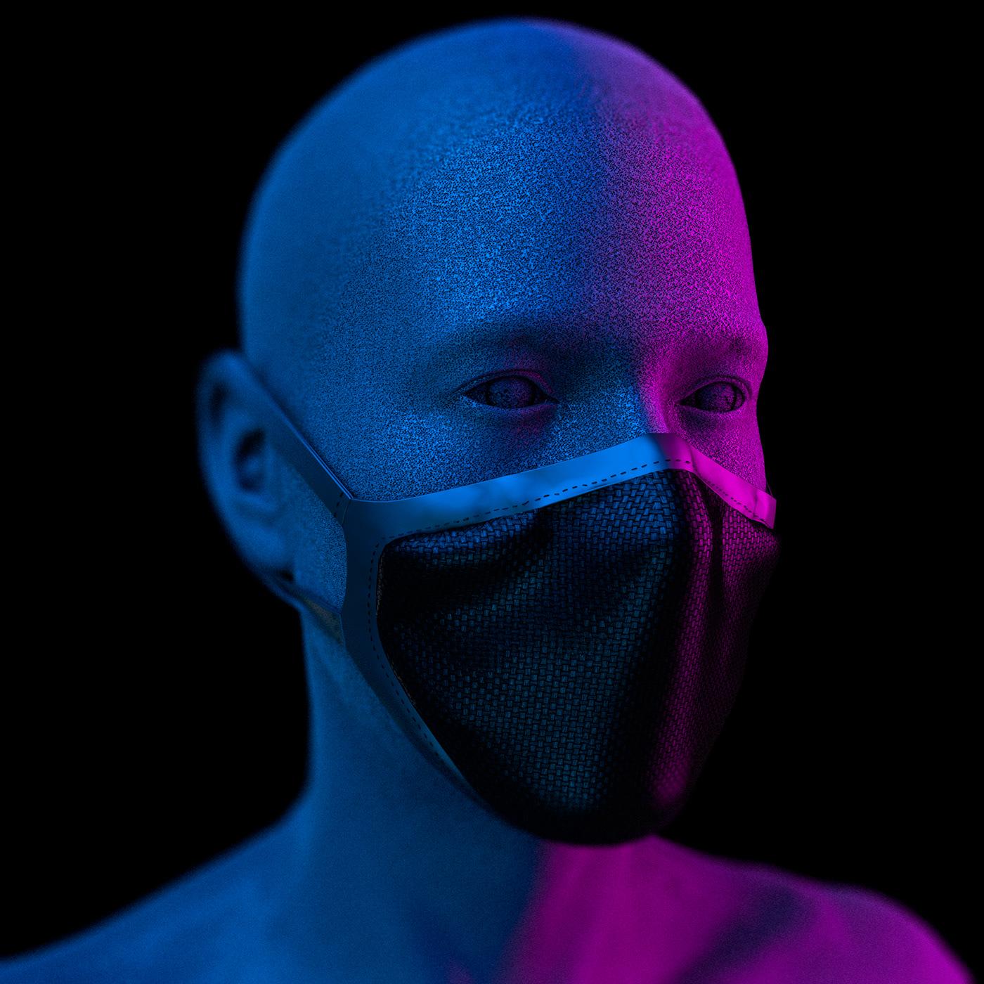 Face Mask Mockup - Free download (PSD) on Behance