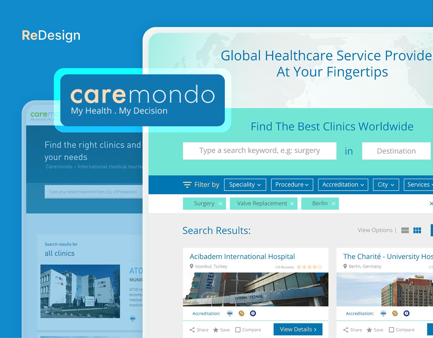 CareMondo - Redesign