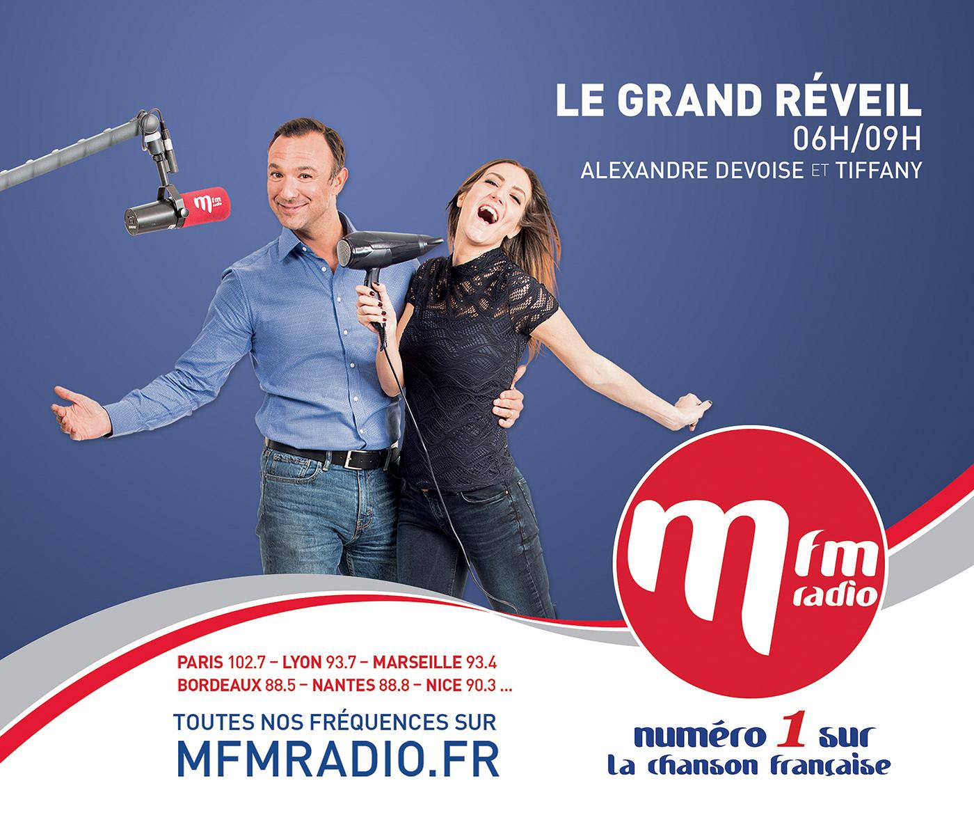 chanson française facebook media MFM micro Musique presse promo pub Radio