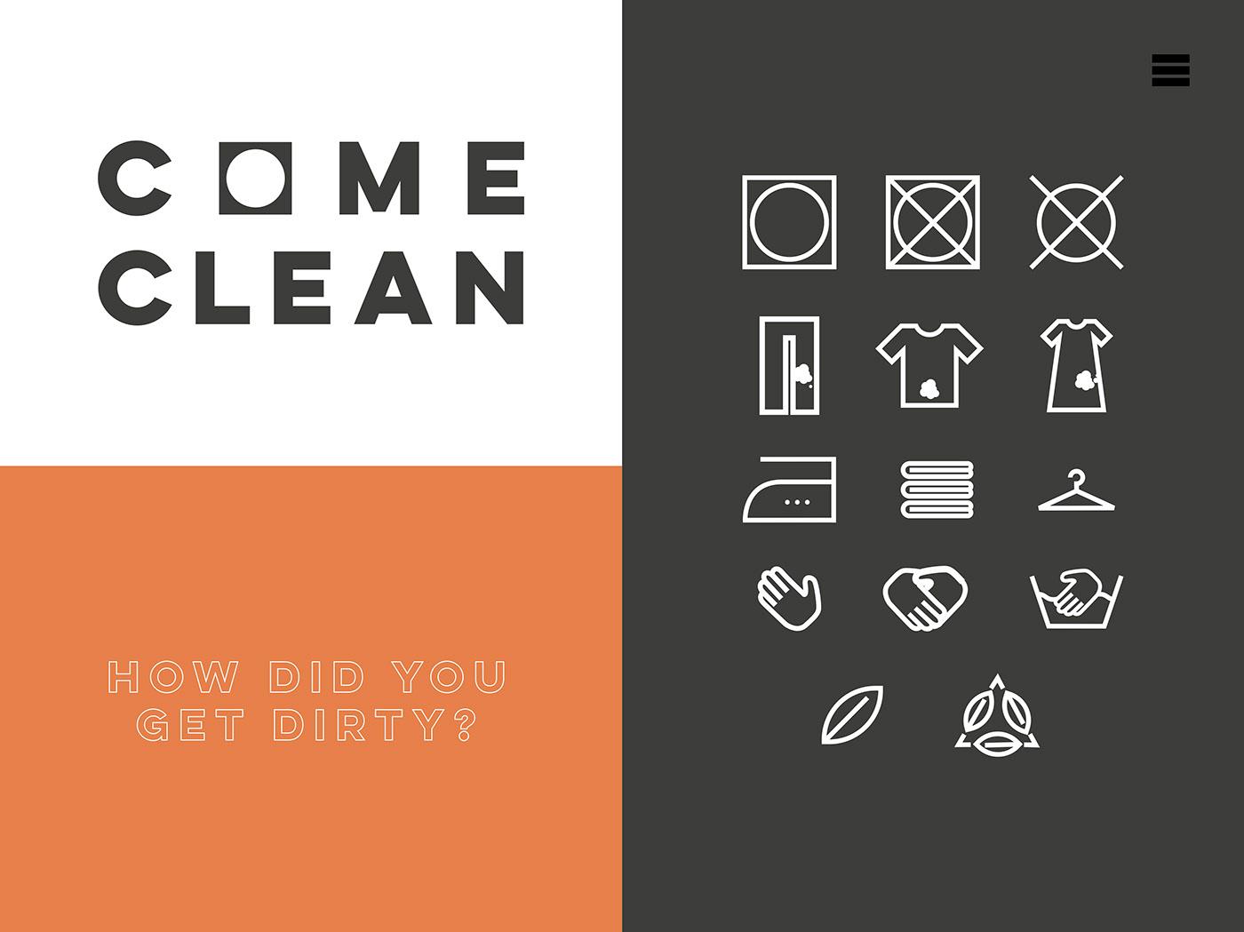branding  laundrette Signage apparel business Scratchcard innuendo graphic design  poster print