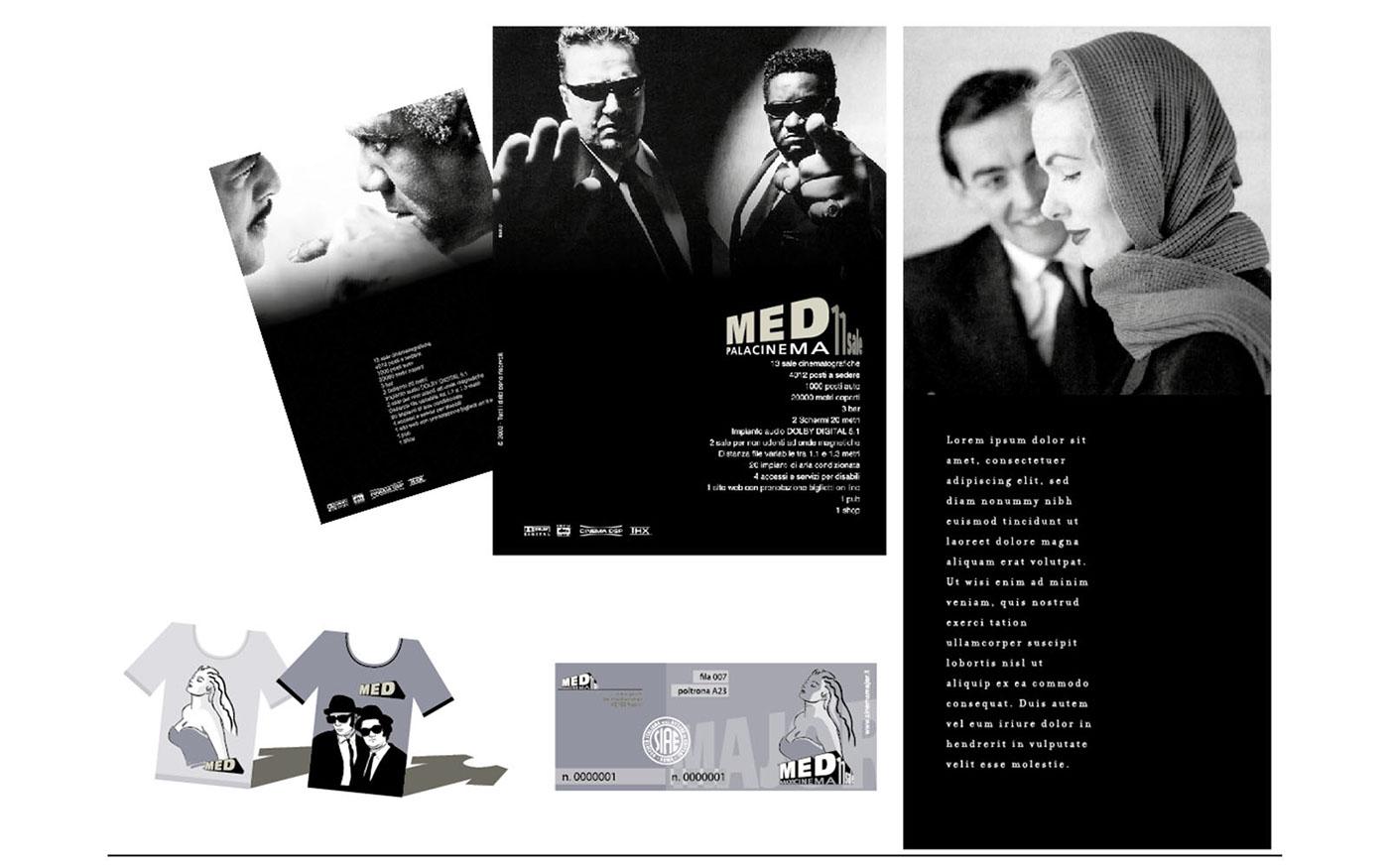 MEDmaxicinema Cinema rebranding brand logo Character graphic design