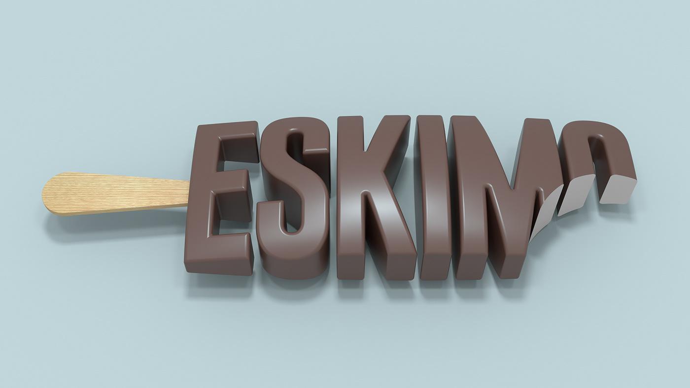 3D pavel kulinsky 3d design 3D Graphics Render lettering art direction  3D lettering Russian designers moscow design