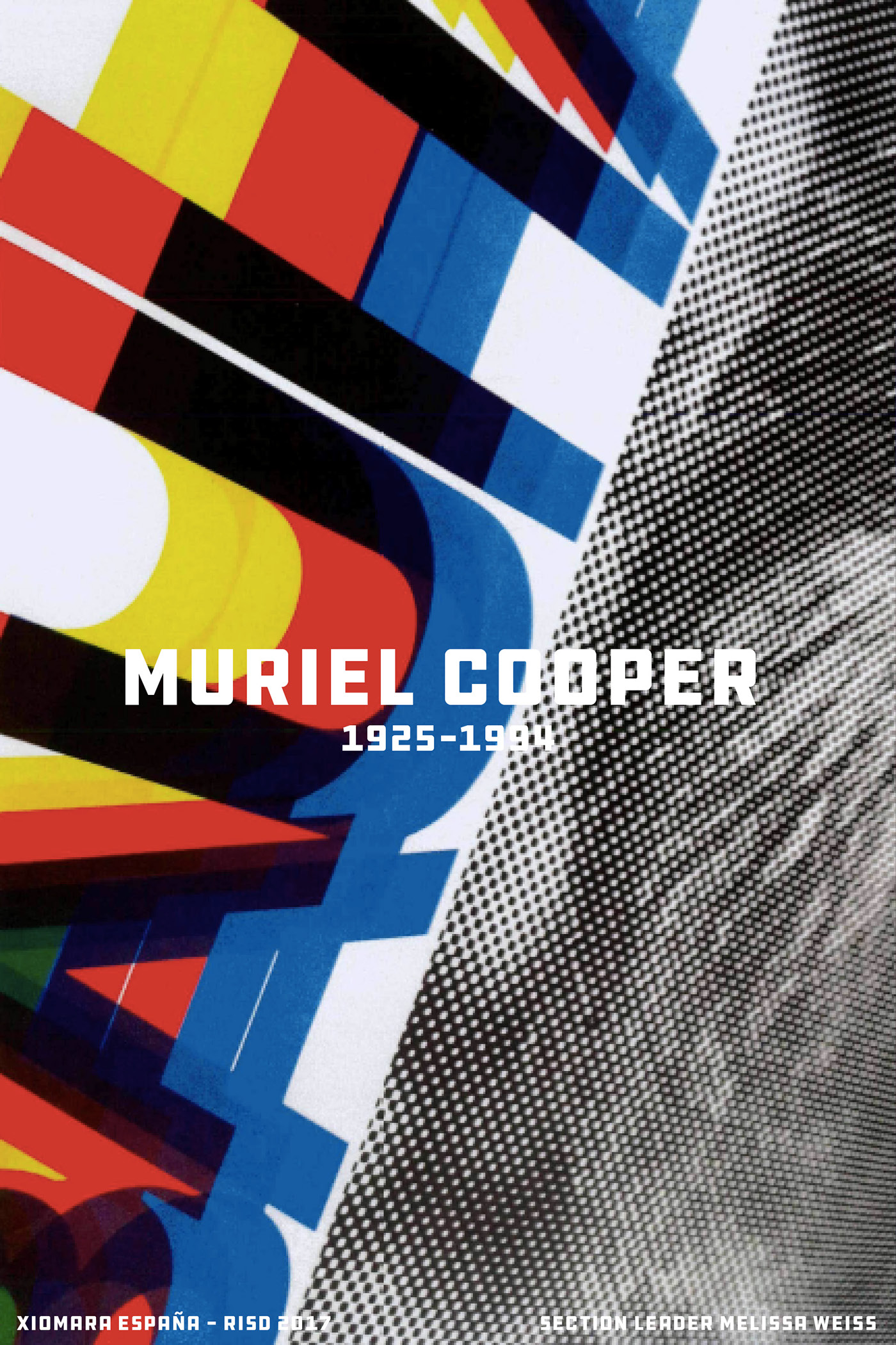On the Careers of Muriel Cooper and Jenny Holzer & History of Graphic Design Accordion Timeline on RISD Portfolios