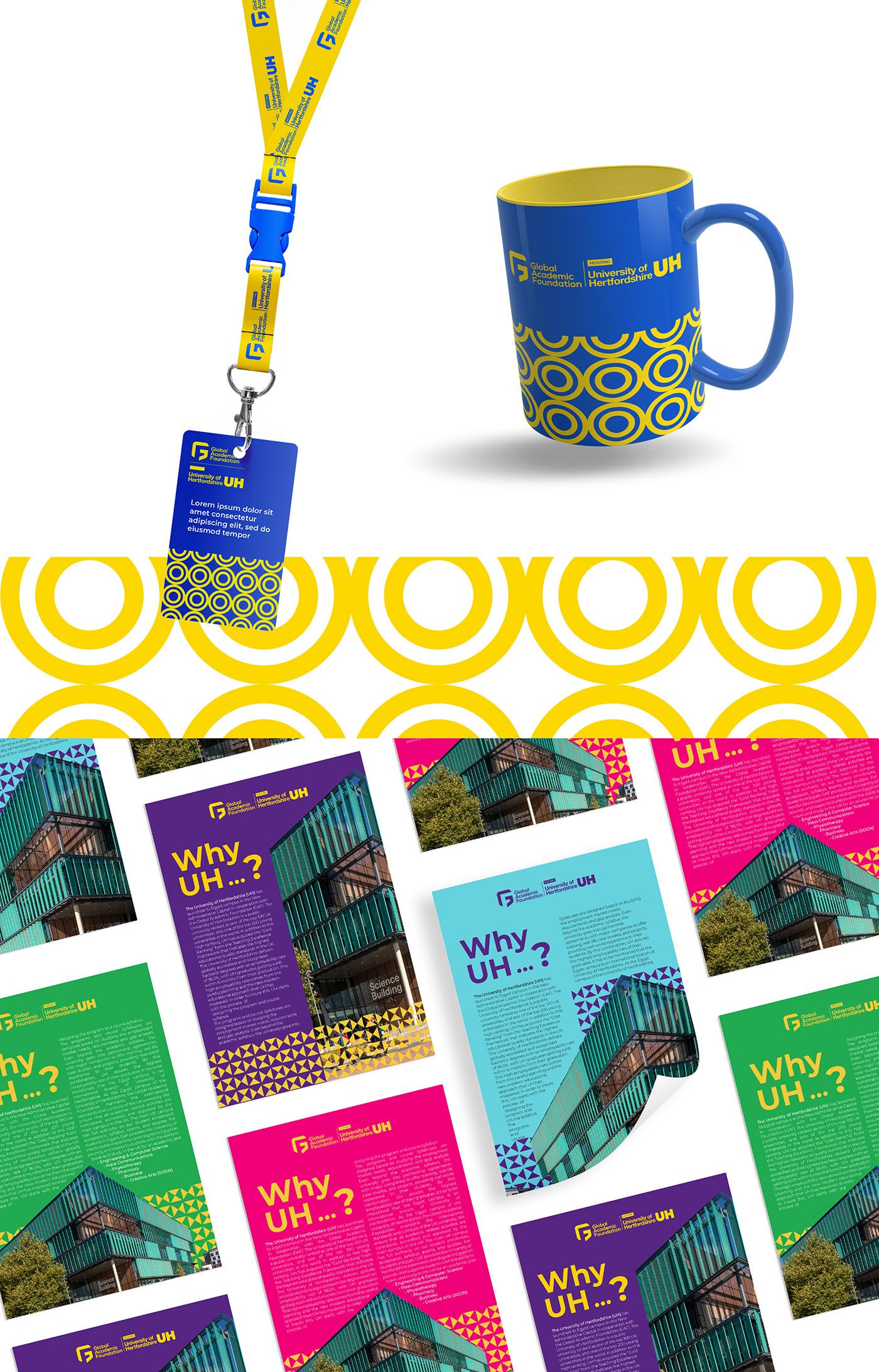 branding  colorful egypt London popping brand rebranding school United Kingdom University
