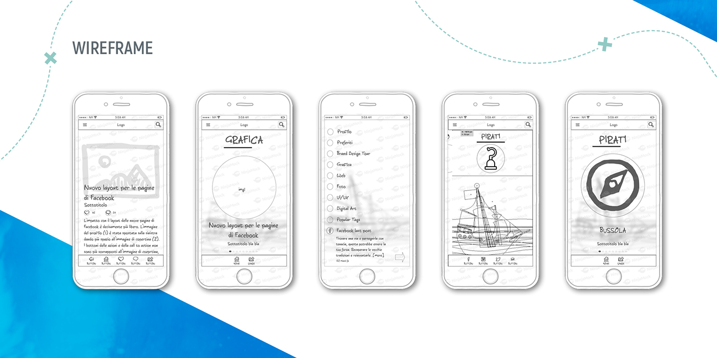 mobile UI ux Interaction design  graphic ios