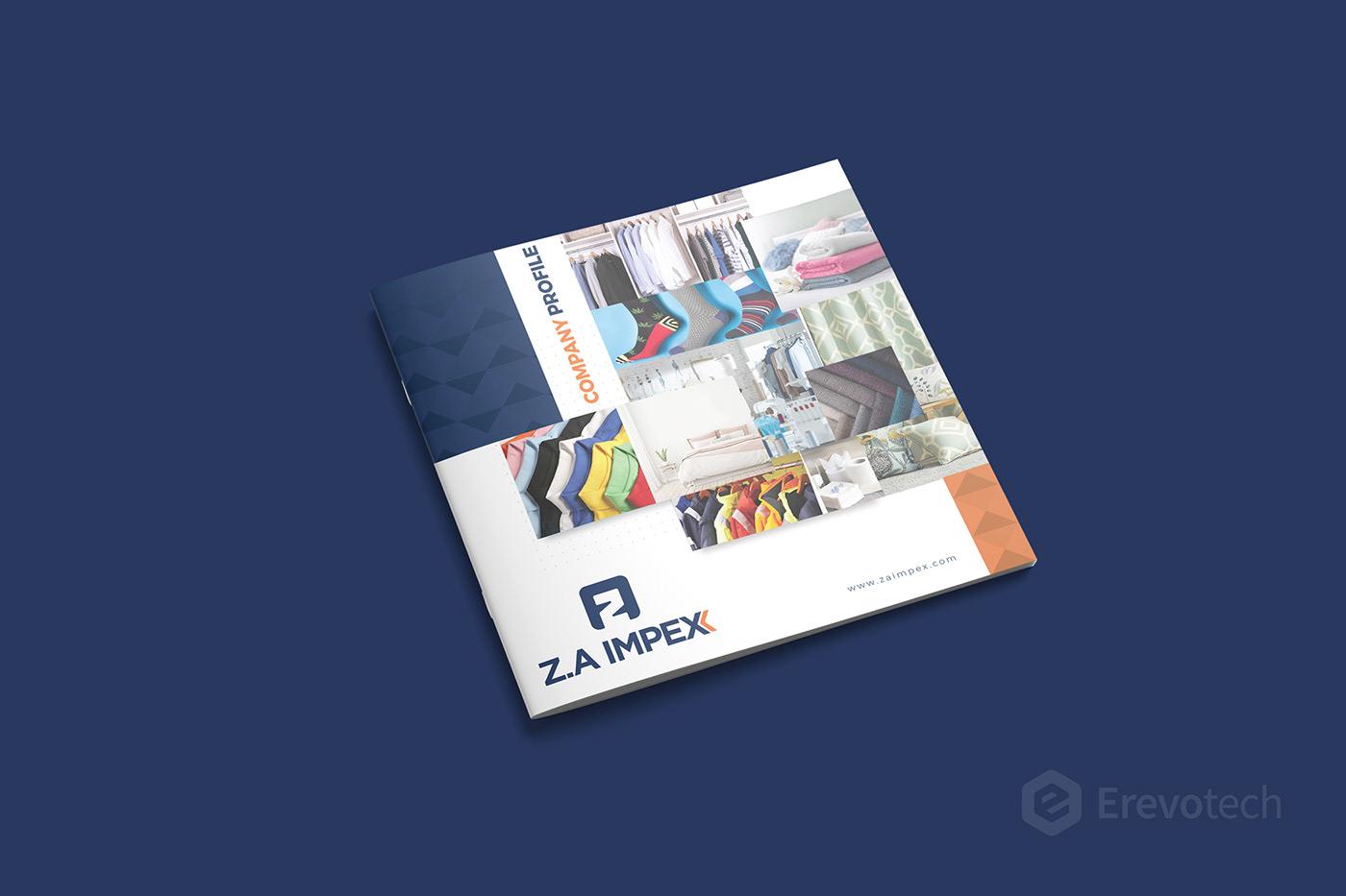textile product catalogue design