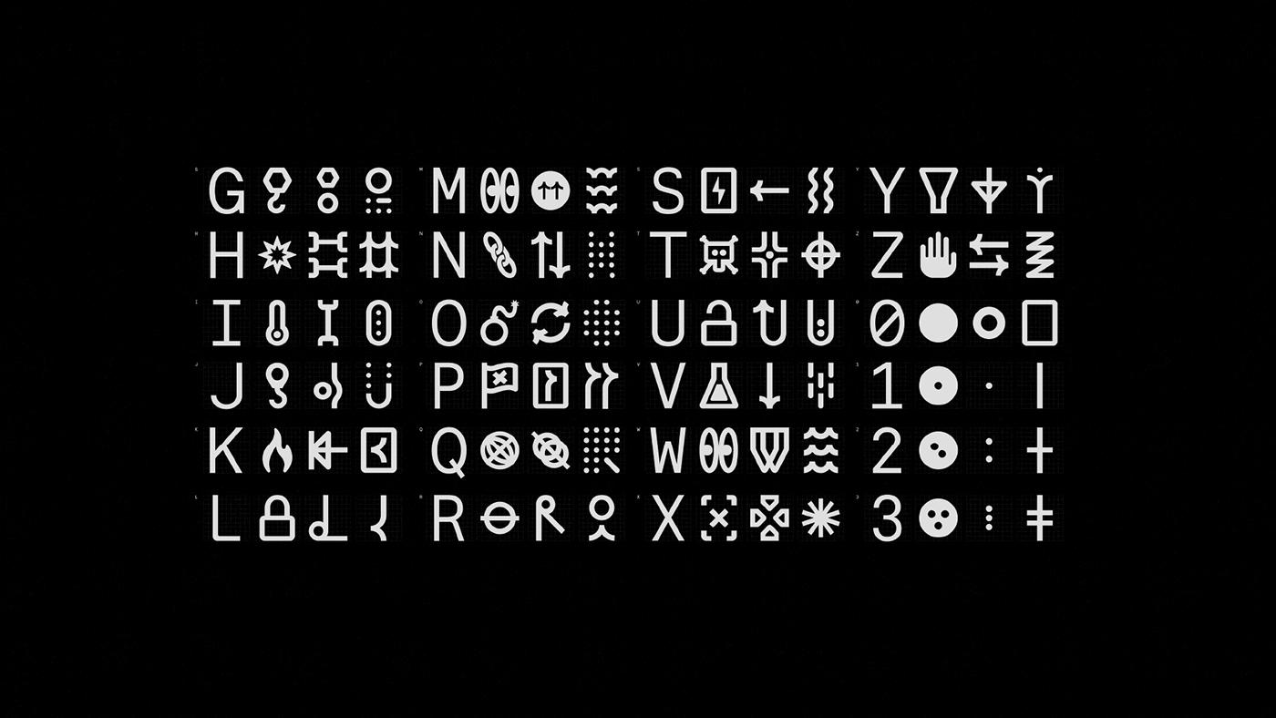 conceptual,geometry,industrial,machine,Mono,monospace,progressive,type,typography  ,fonts