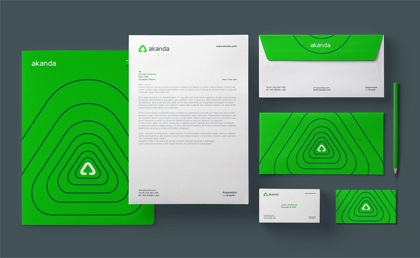 Akanda Brand Identity on Behance