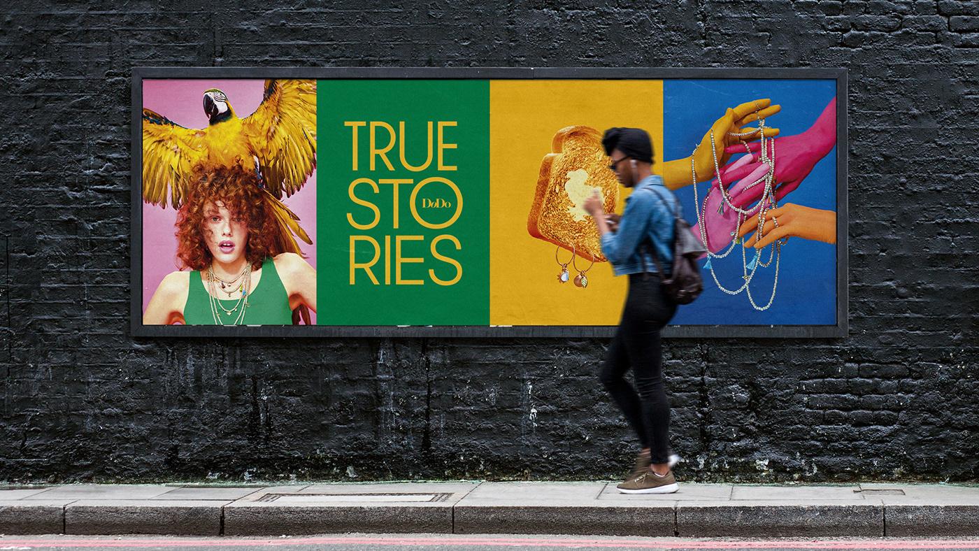 toiletpaper Fashion  color Advertising  jewels pomellato Stories Fun rebranding poster