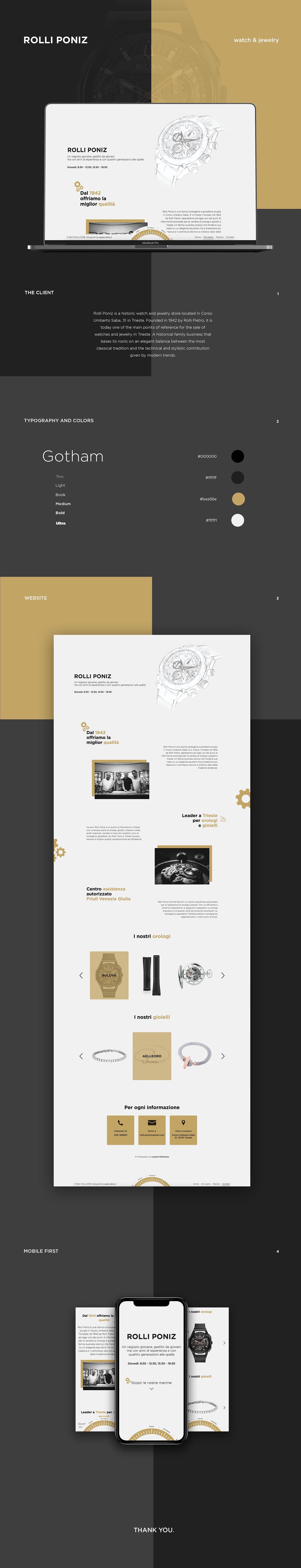 watch and jewelry watch jewelry UI ux user interface Website Design UI WEBSITE UX Website