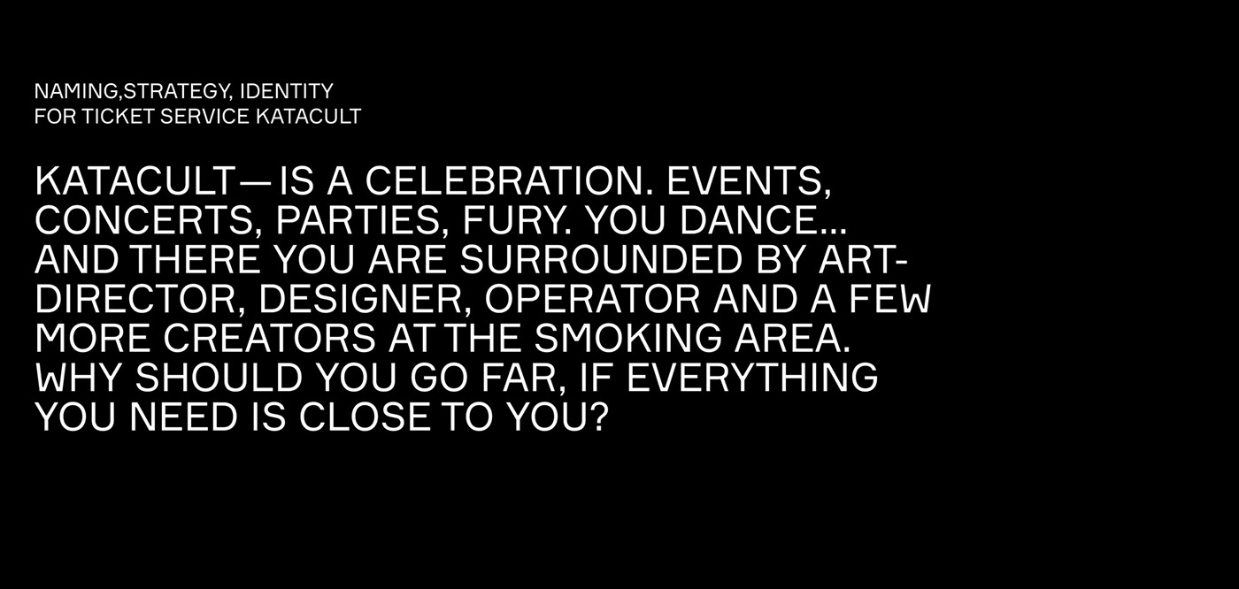 music cult ID tickets Events identity strategy branding  DANCE