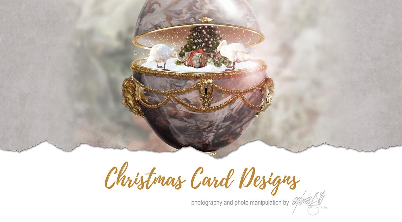 有設計感的34款聖誕卡片設計欣賞