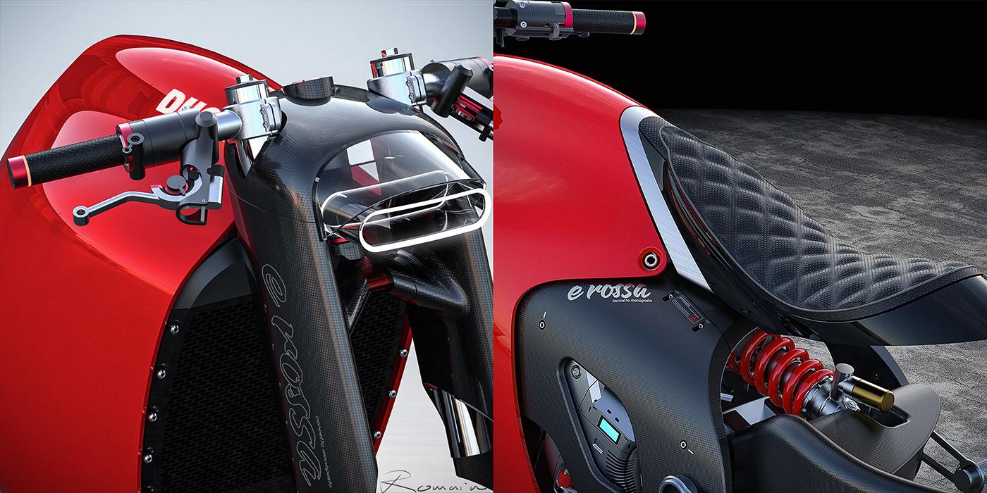 Ducati è rossa monoposto on Behance