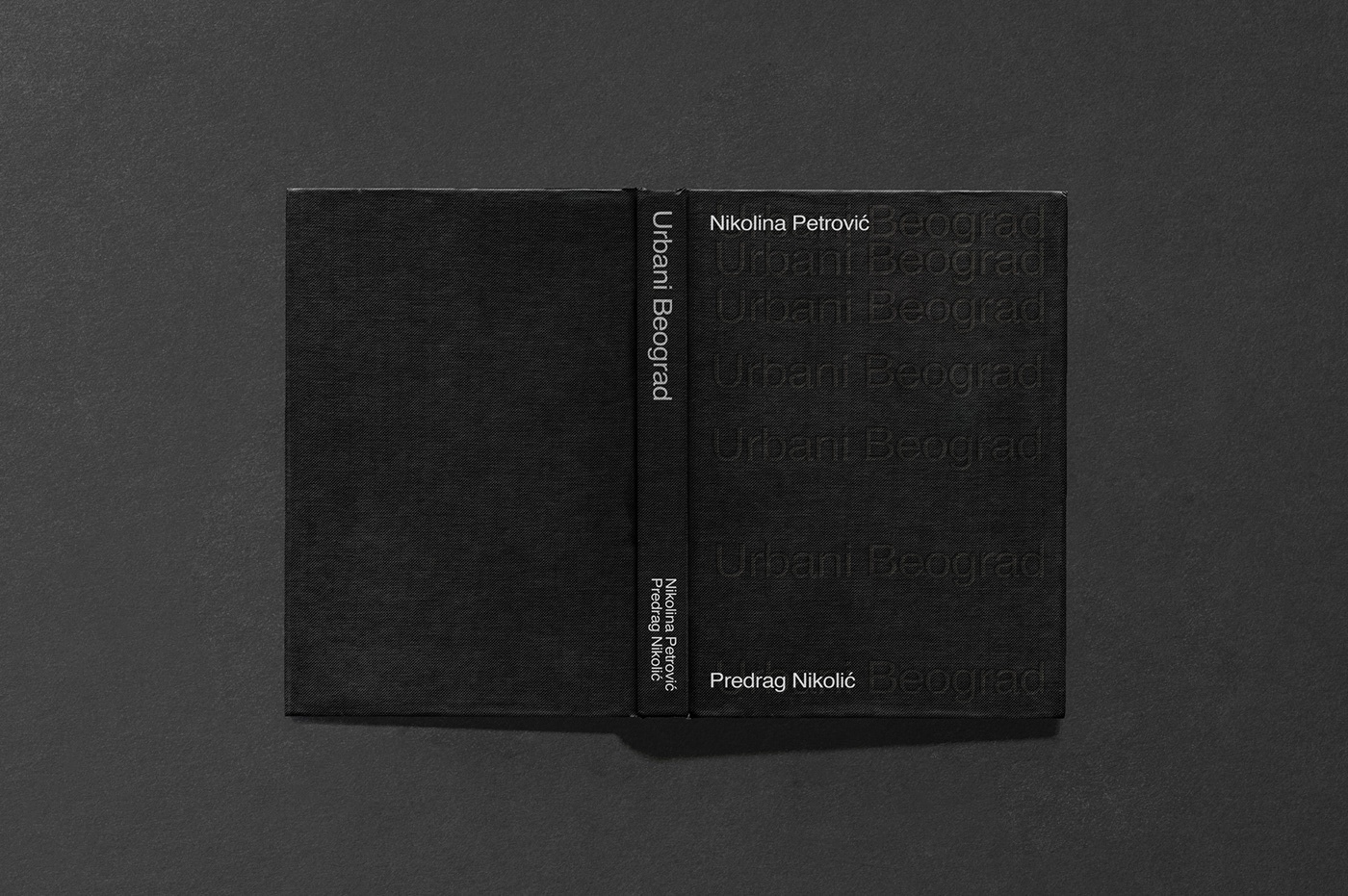 book editorial minimal Serbia swiss typography