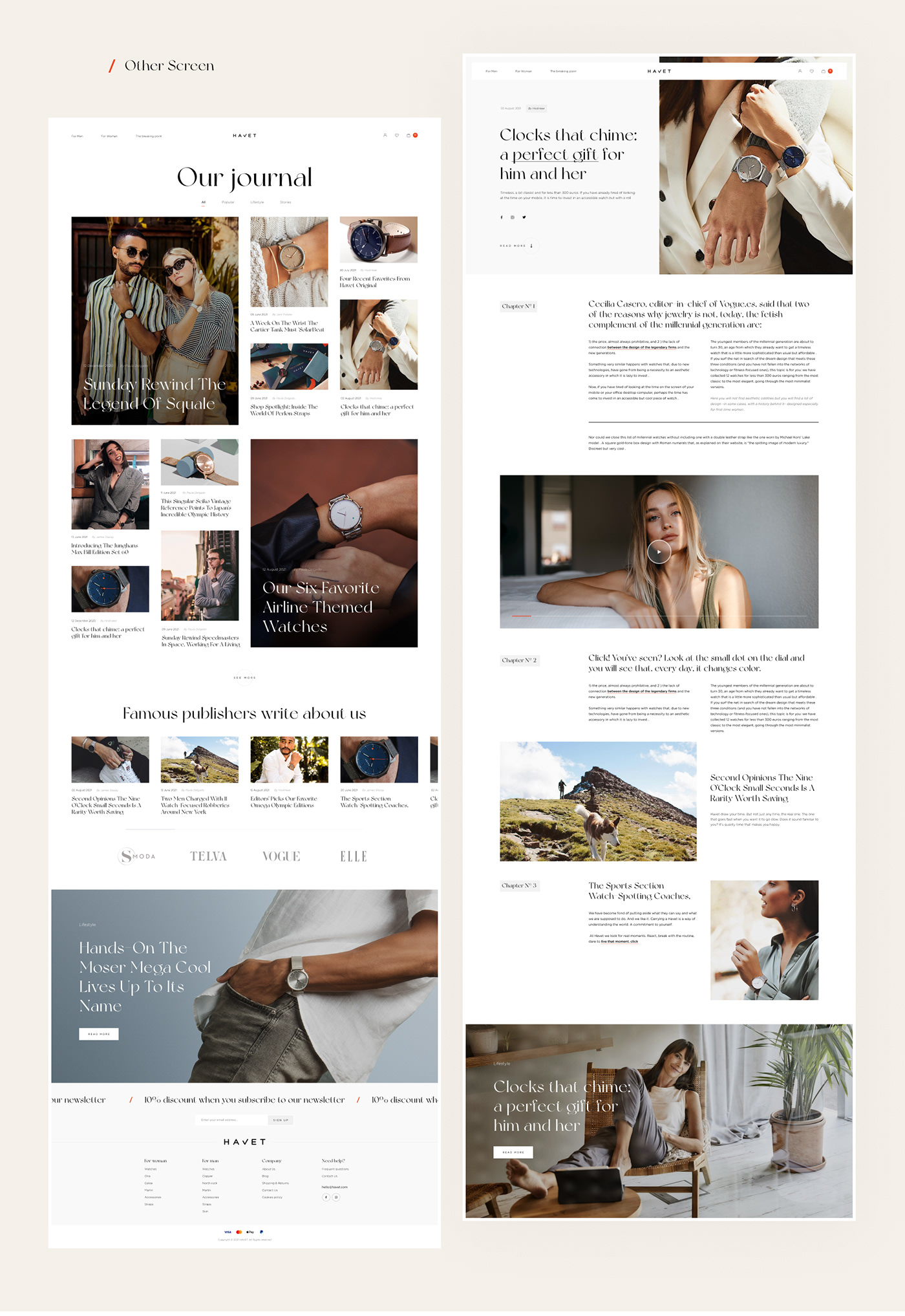animation  Ecommerce Fashion  interaction UI ux Website Watches shop store