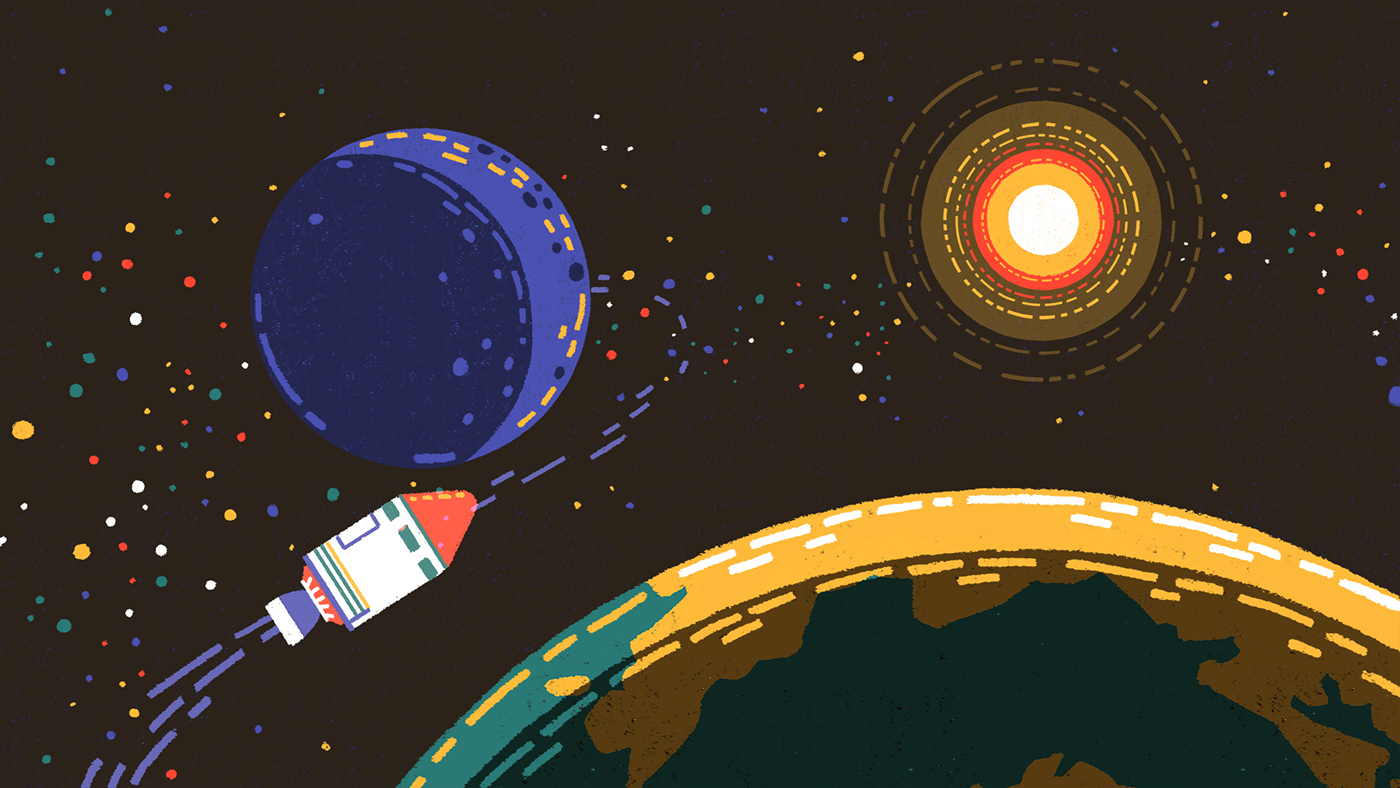 universe Space  time star planet milkyway hubble science gif