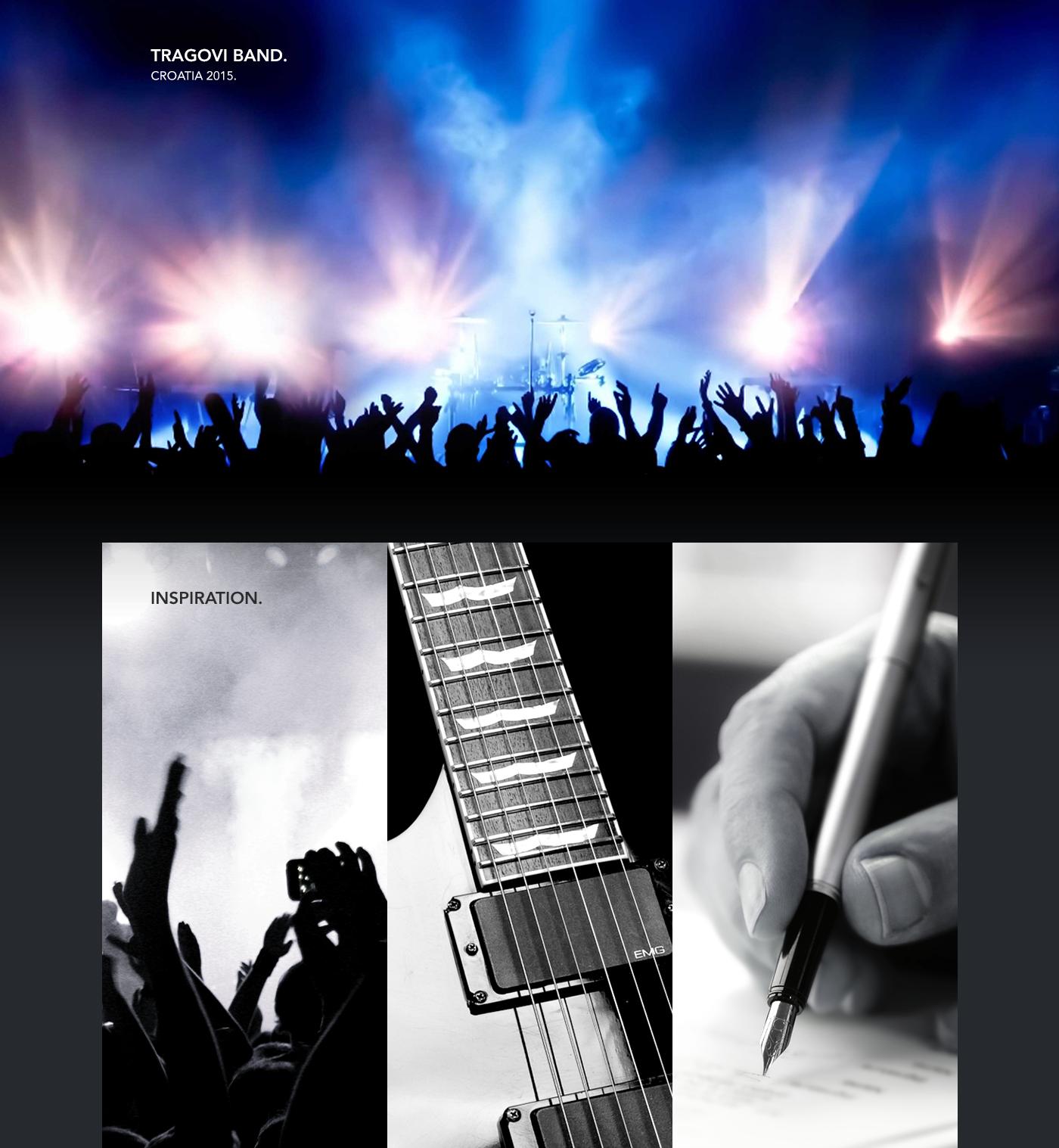 brand logo visual identity brand identity Logo Design type creative music song guitar