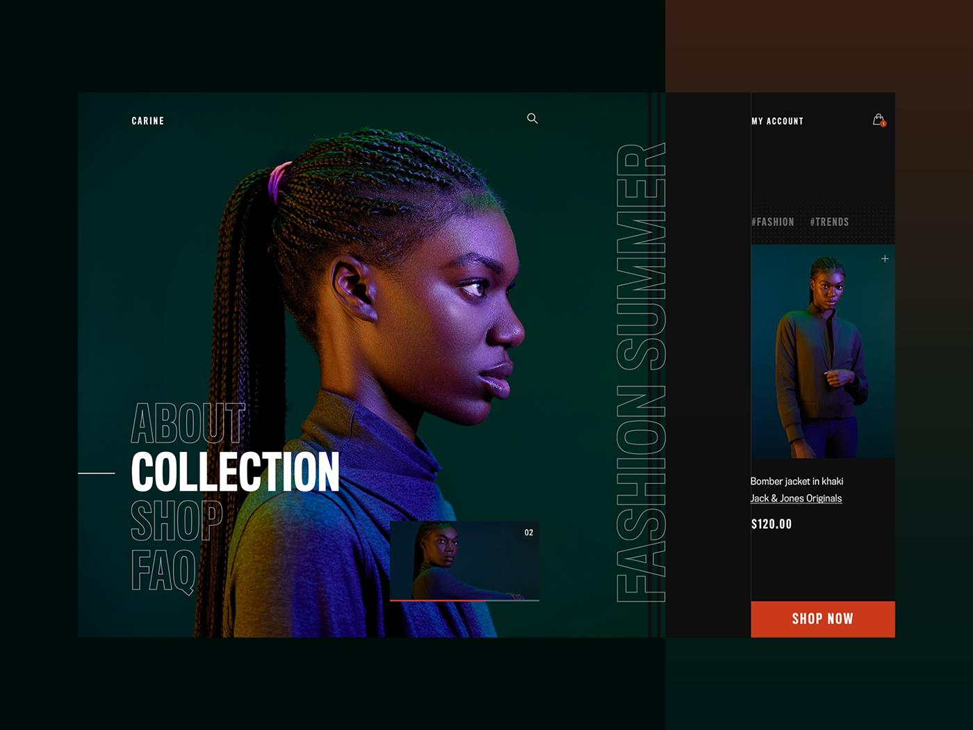 Fashion  mobileapp UI uidesign ux uxdesign
