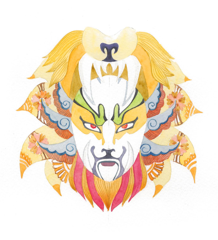 Horoscope masks Beijing Opera