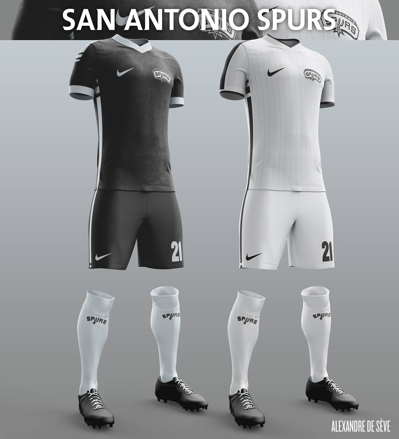 Talisman & Co. | San Antonio Spurs Soccer Concept Kit