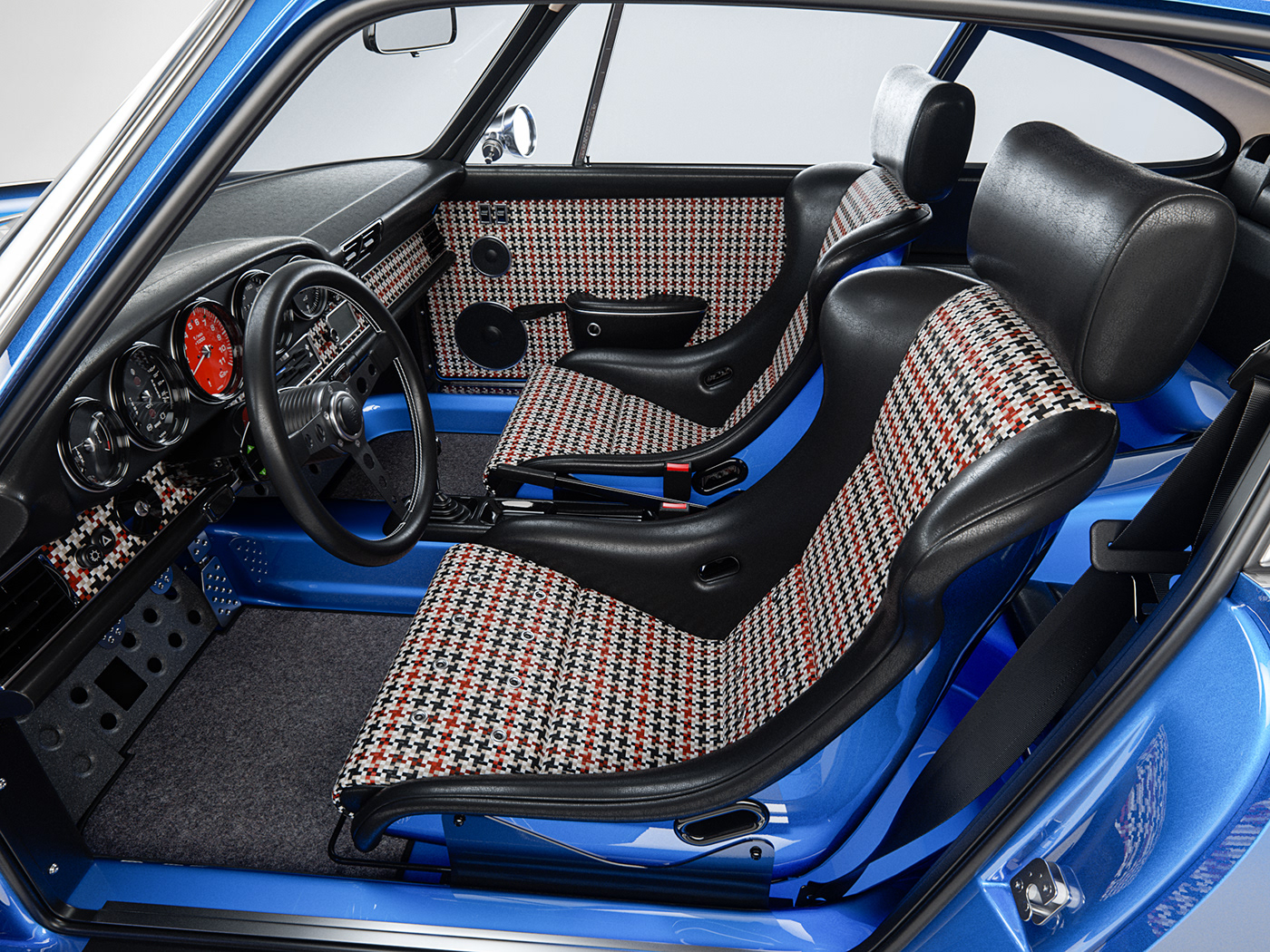 Porsche car modeling automotive   Singer 3D blender corona