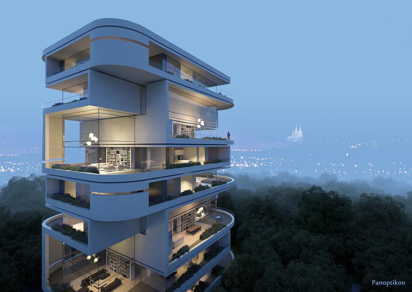 Luxury Apartments on Behance