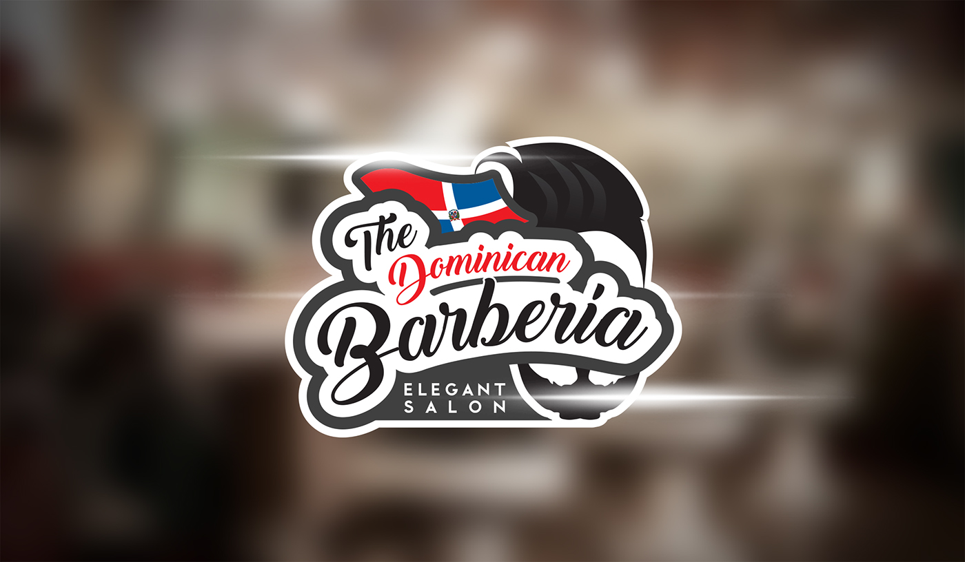 the dominican barberia on behance