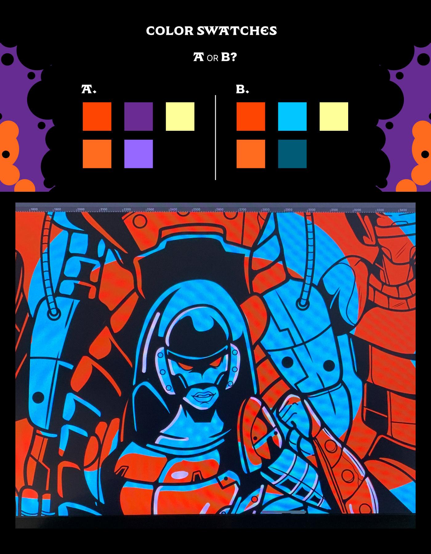 Image may contain: cartoon, screenshot and art