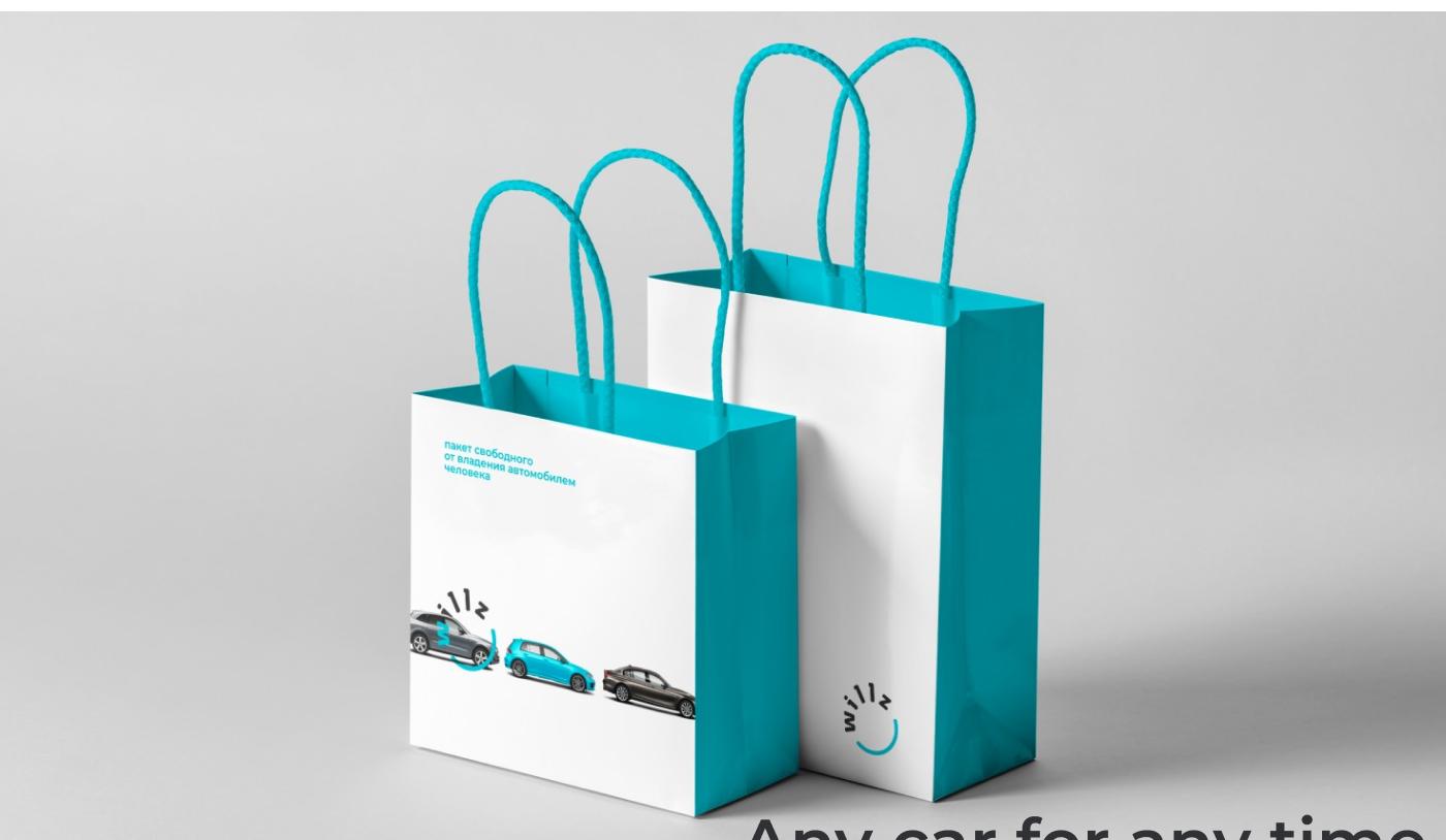brand identity car Web UI graphic logo design service app