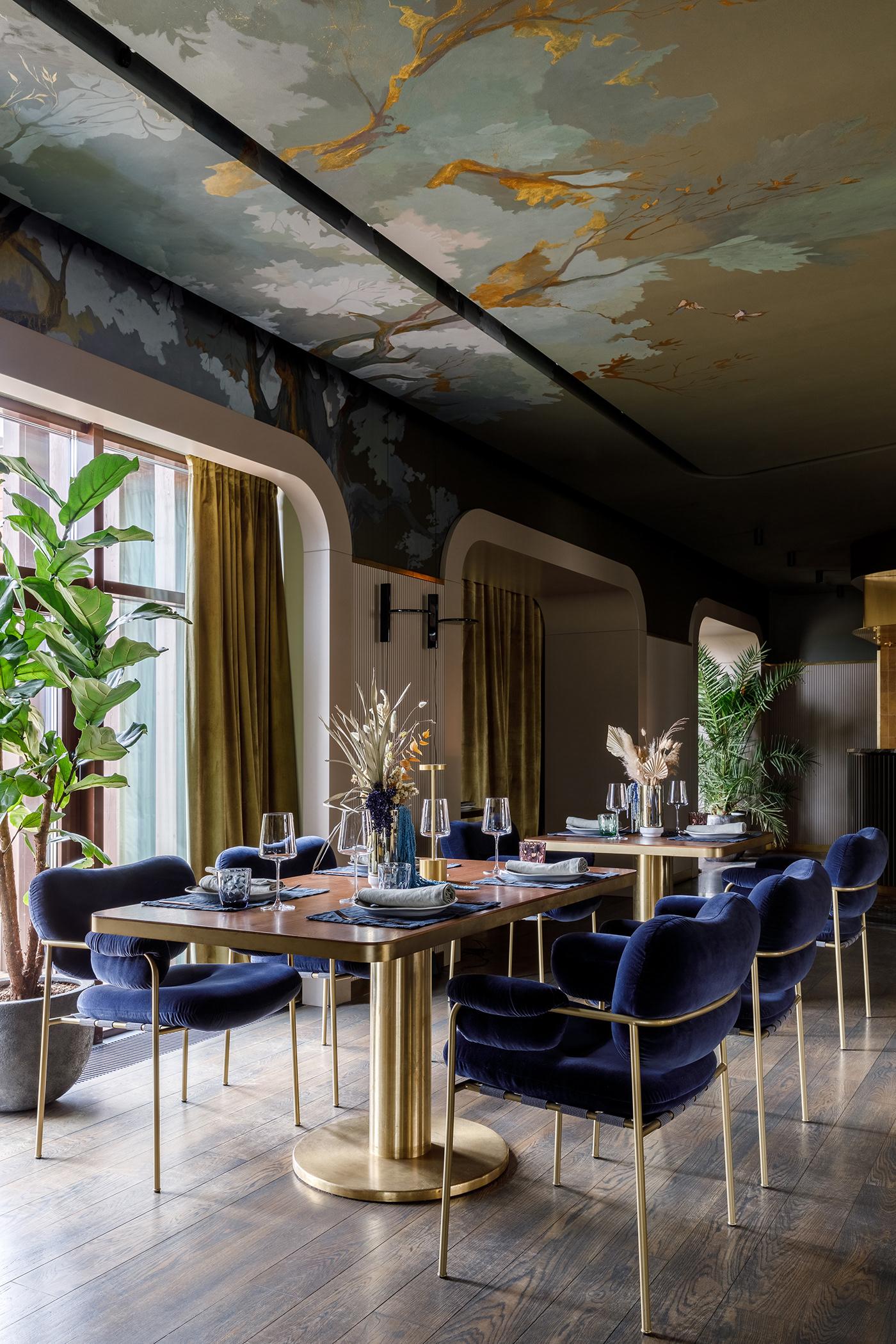 restaurant hotel ресторан отель дизайн ресторана