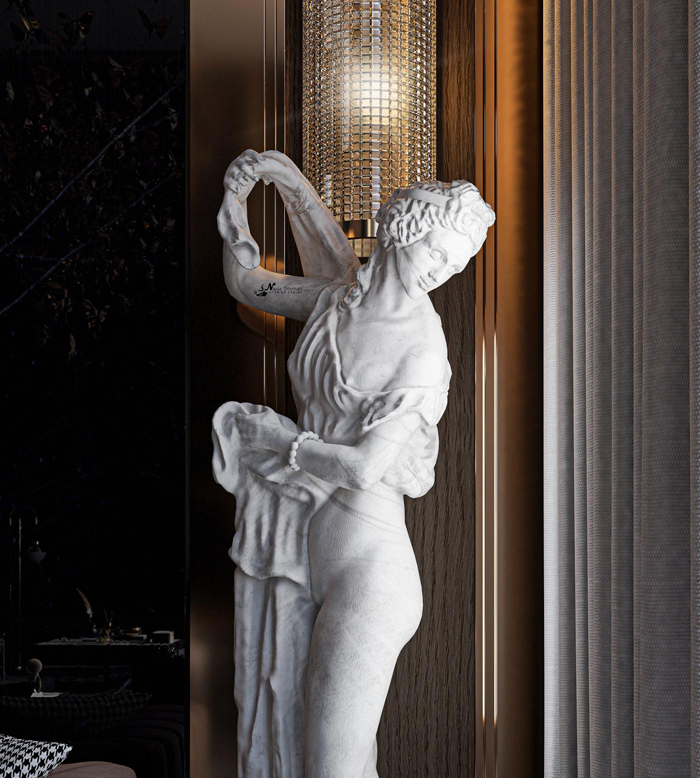 Hình ảnh có thể chứa: tượng, điêu khắc và trong nhà